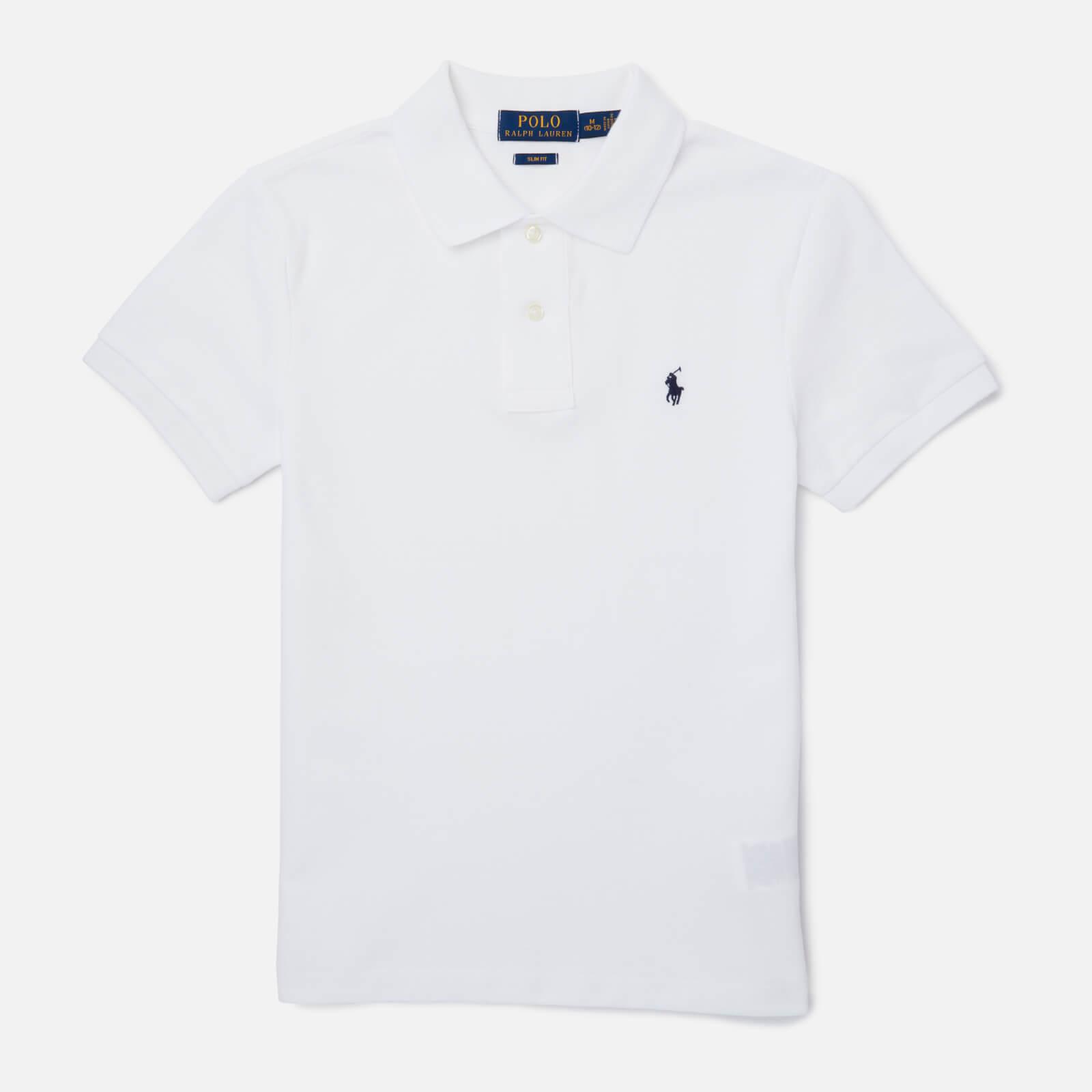 Polo Ralph Lauren Boys' Polo-Shirt - White - 8 Years