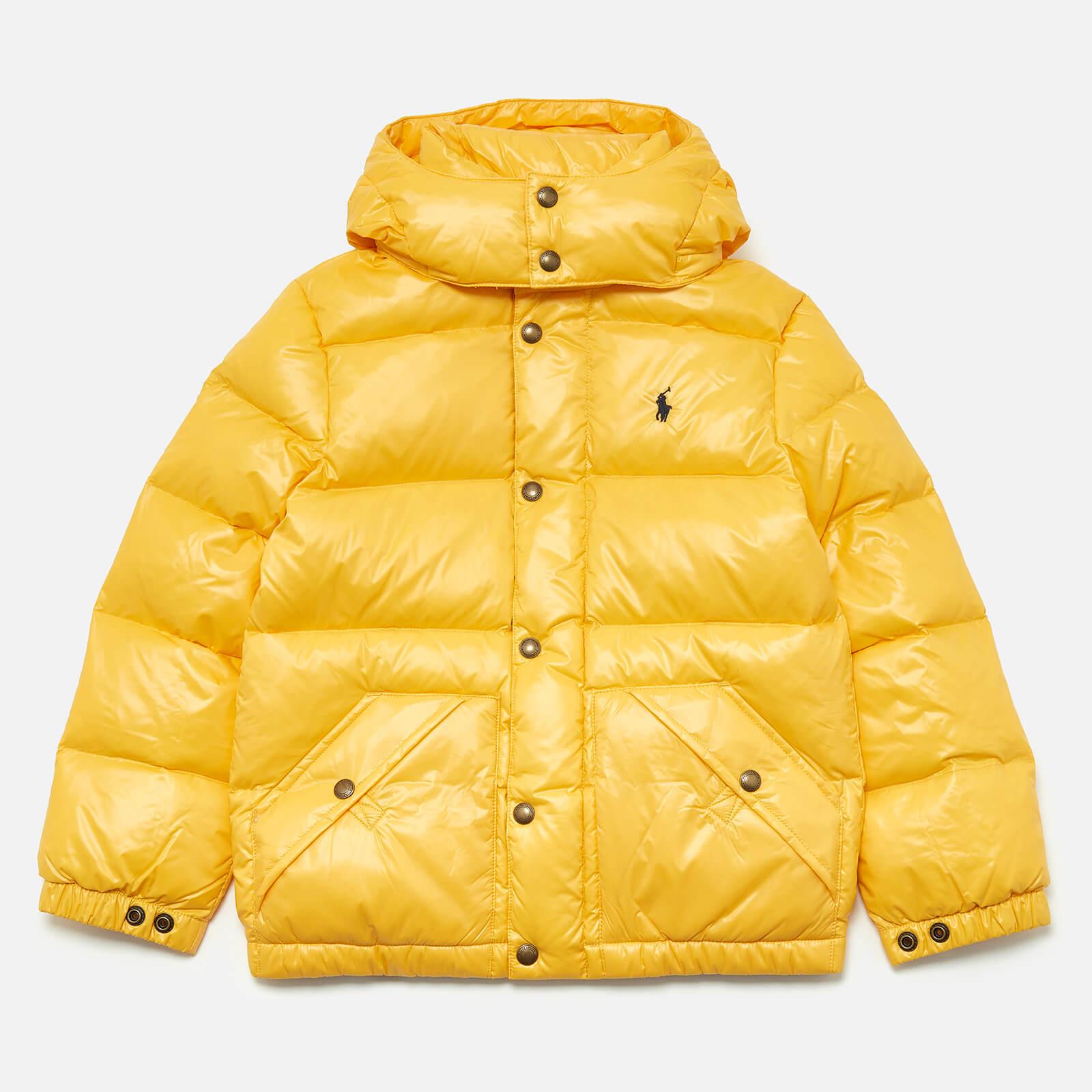 Polo Ralph Lauren Boys' Padded Jacket - Yellow - 6 Years