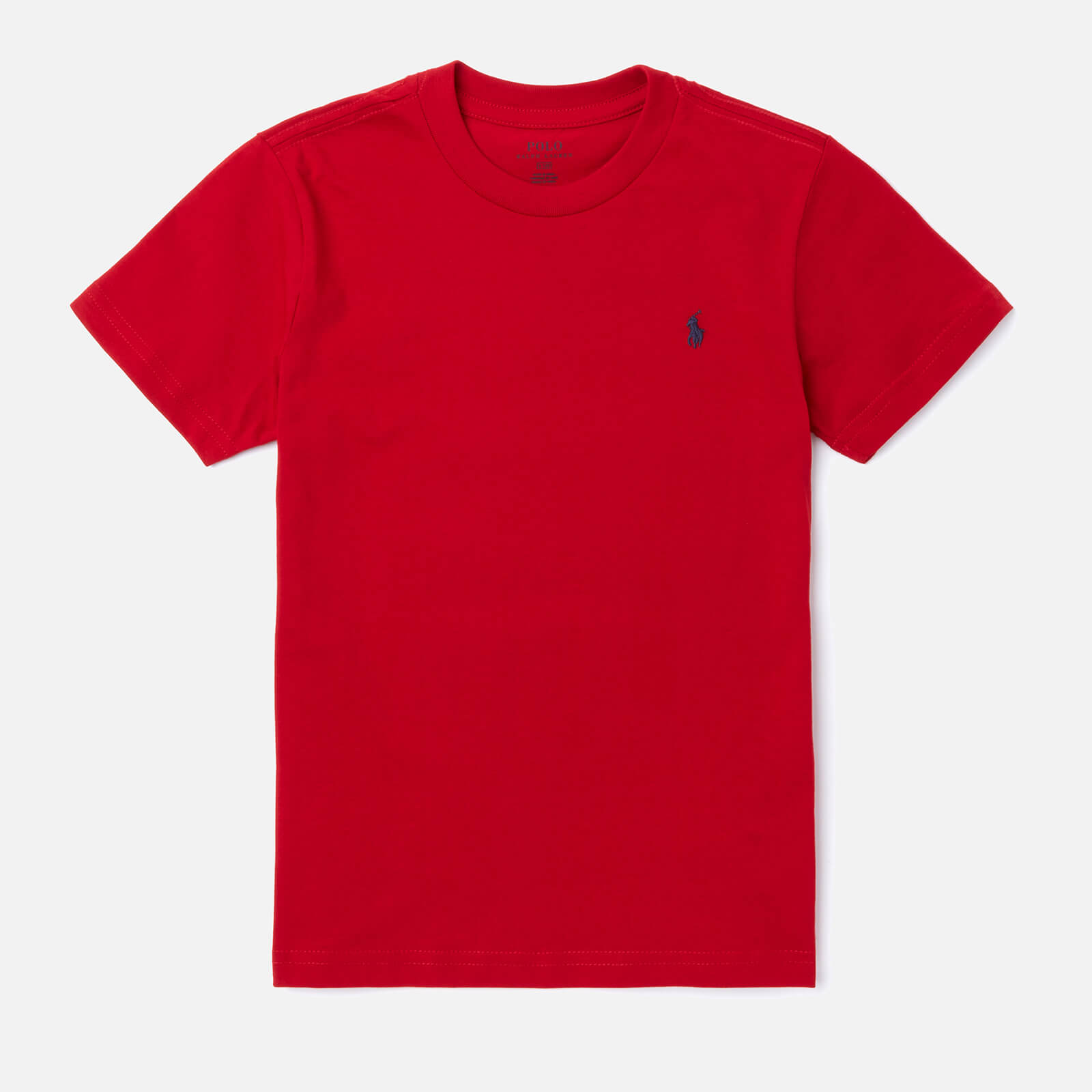 Polo Ralph Lauren Boys' Crew Neck T-Shirt - Red - 6 Years