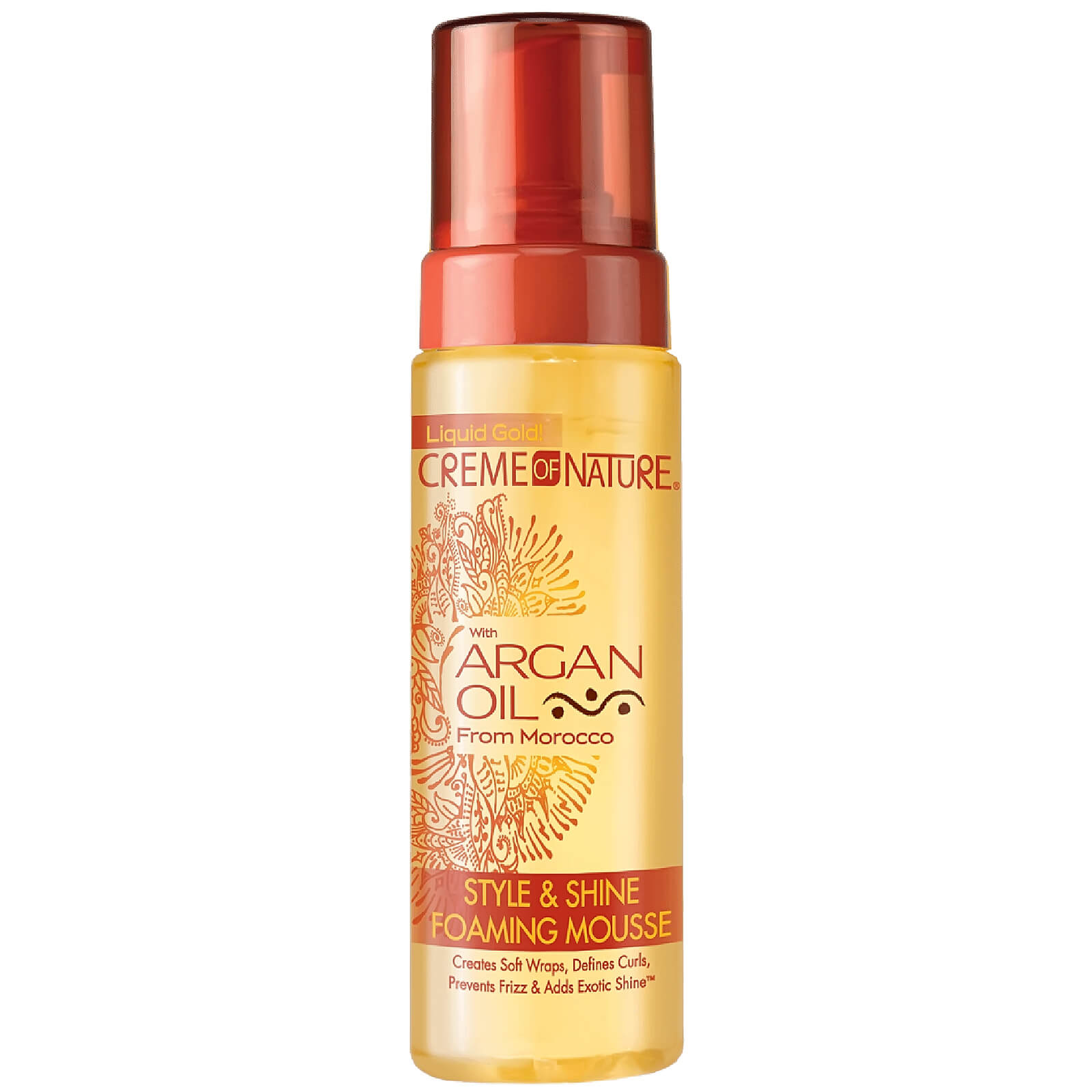 Купить Crème of Nature Argan Oil Style & Shine Foaming Mousse 207ml