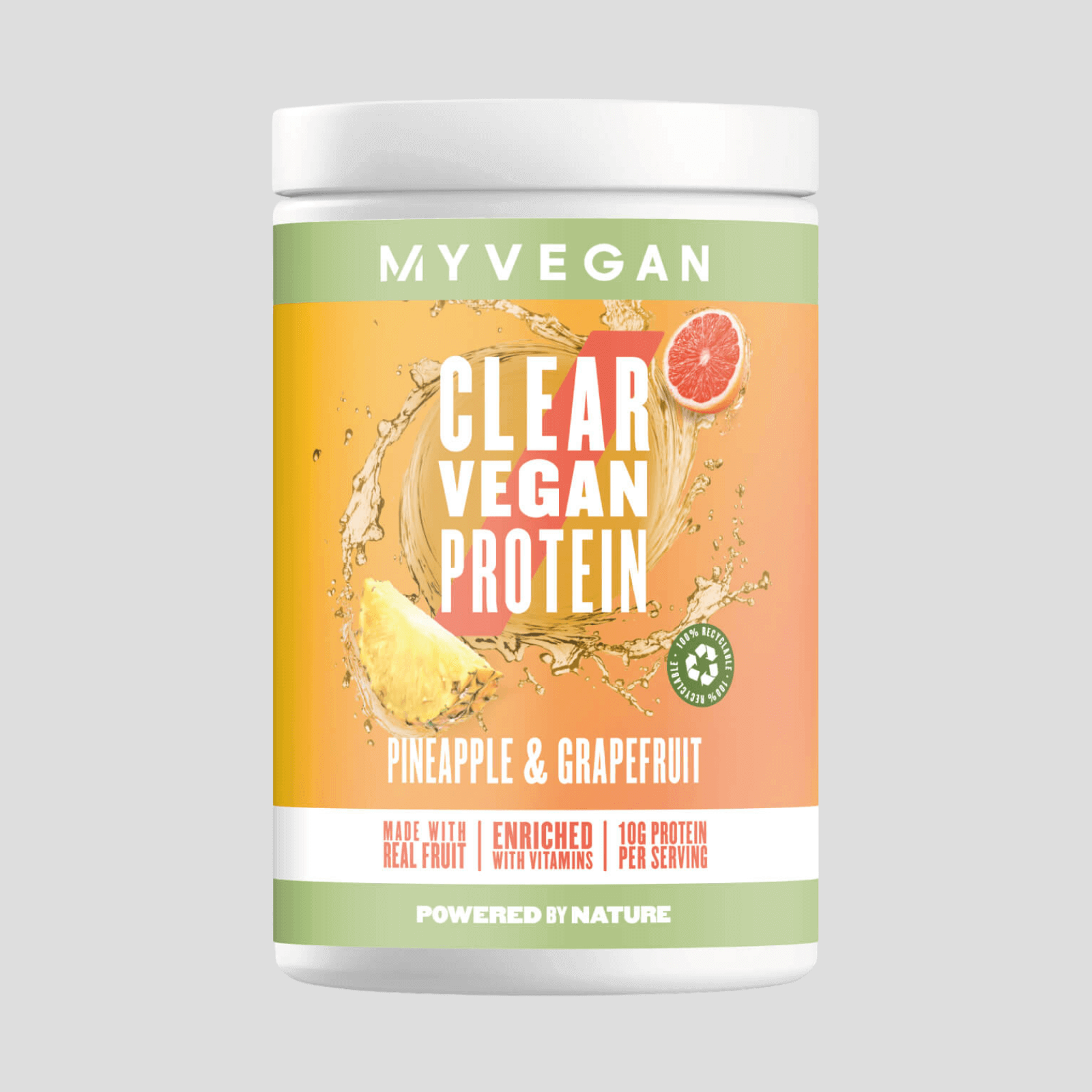 Clear Vegan Protein - 40servings - Pineapple & Grapefruit