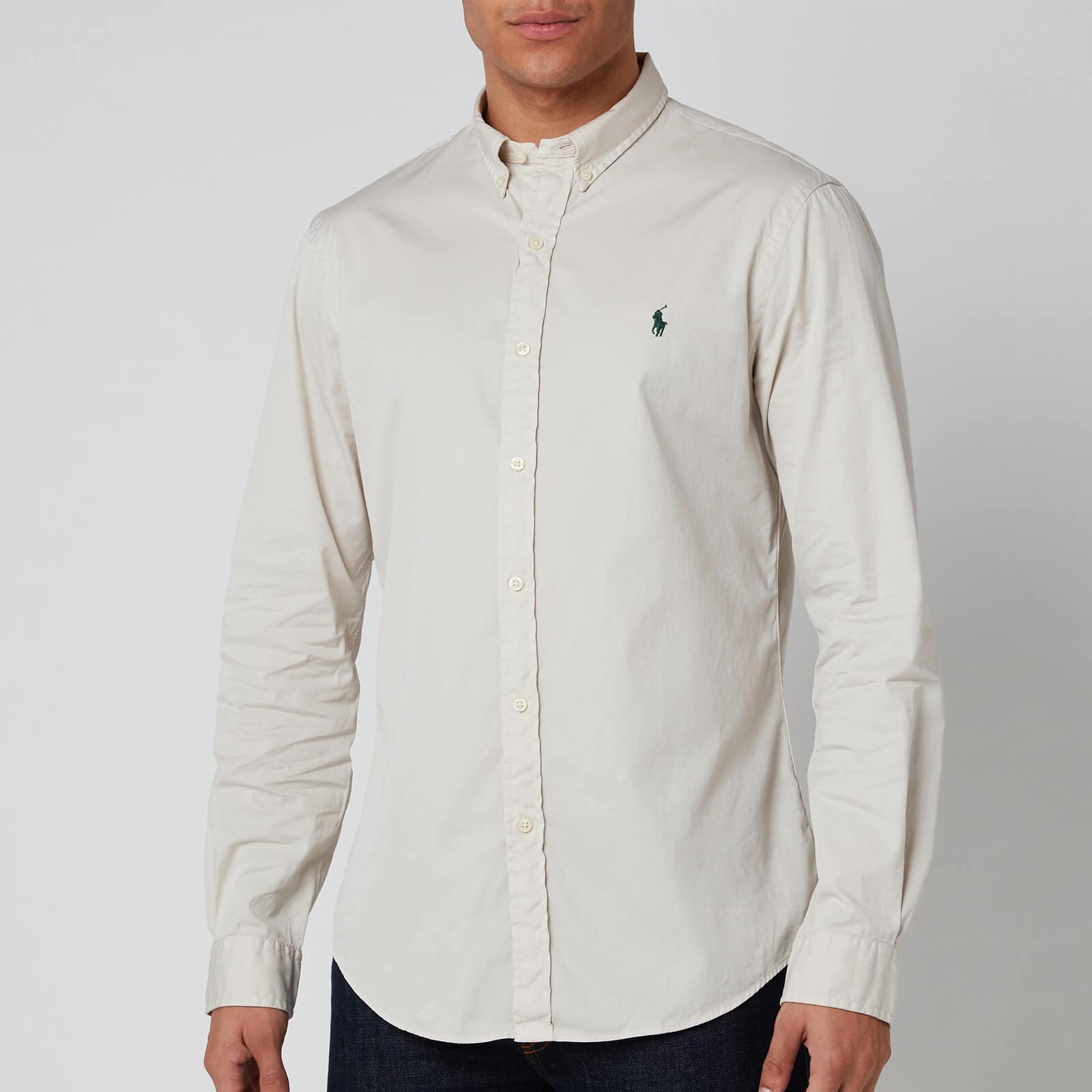 Polo Ralph Lauren Men's Long Sleeve Sport Shirt - Dove Grey - XL