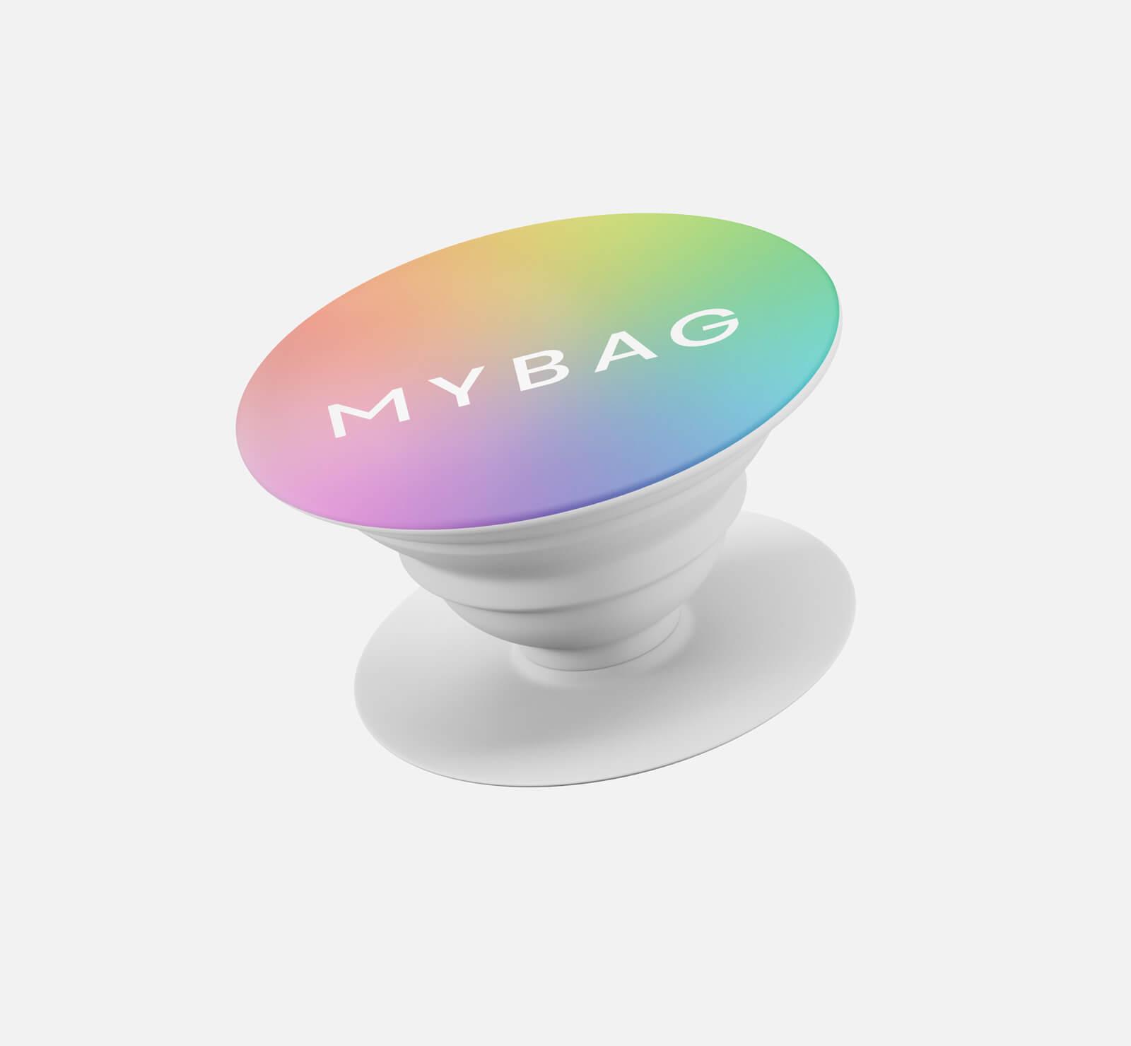 MyBag Selfie Grip- Rainbow