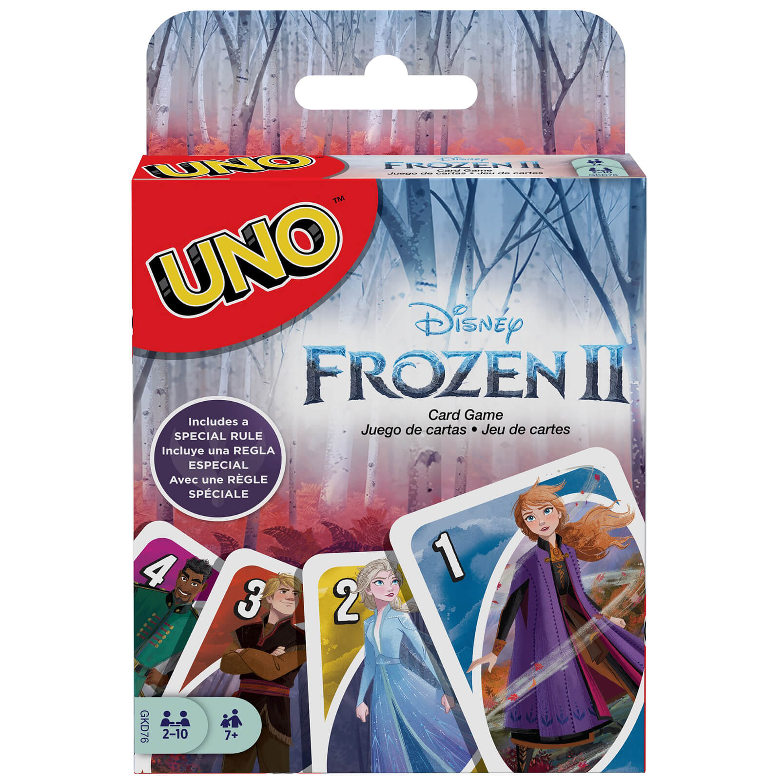 Image of Uno Frozen 2 Card Game