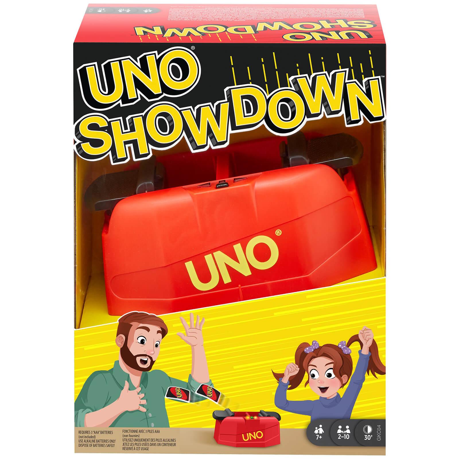Image of Mattel Uno: Showdown Flip - Card Game