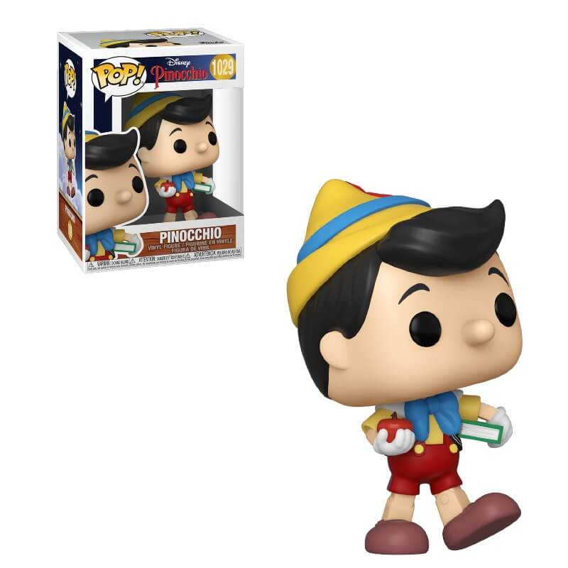 Image of Disney Pinocchio School Bound Pinocchio Pop! Vinyl Figure