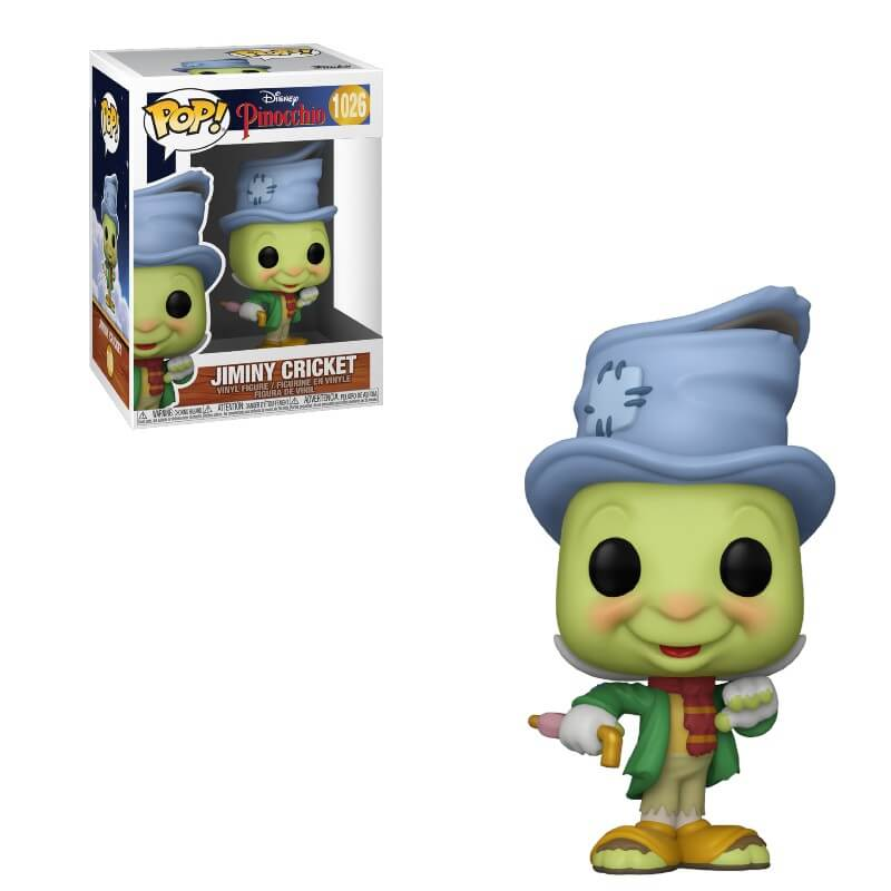 Image of Disney Pinocchio Street Jiminy Pop! Vinyl Figure