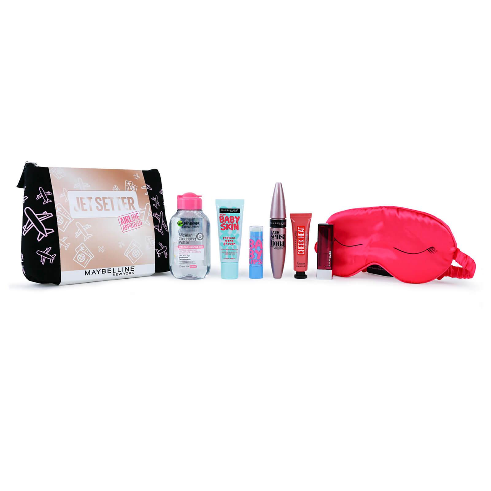 Maybelline Makeup Jet Setter Gift Set Travel Kit for Her (Worth £40.00)