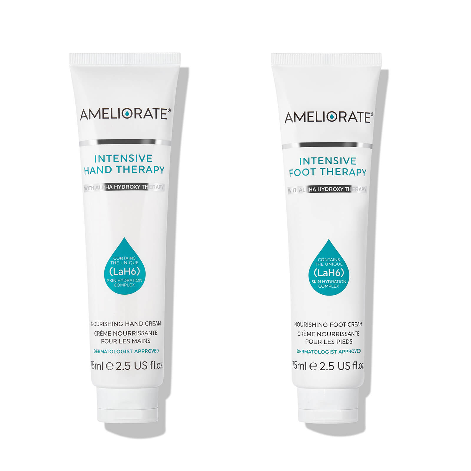 Cosmetics & Skincare AMELIORATE Top-to-Toe Intensive Therapy Duo (Worth £30.00)