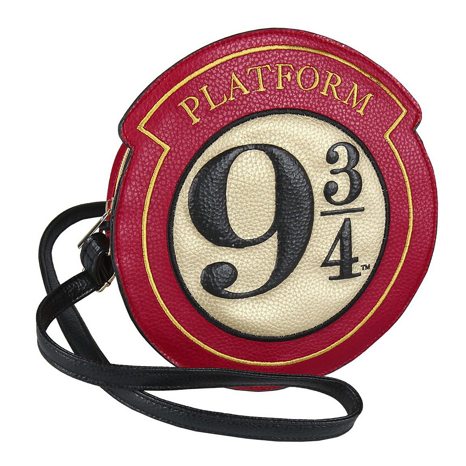 Harry Potter Platform 9 3/4 Faux Leather Shoulder Bag   Red