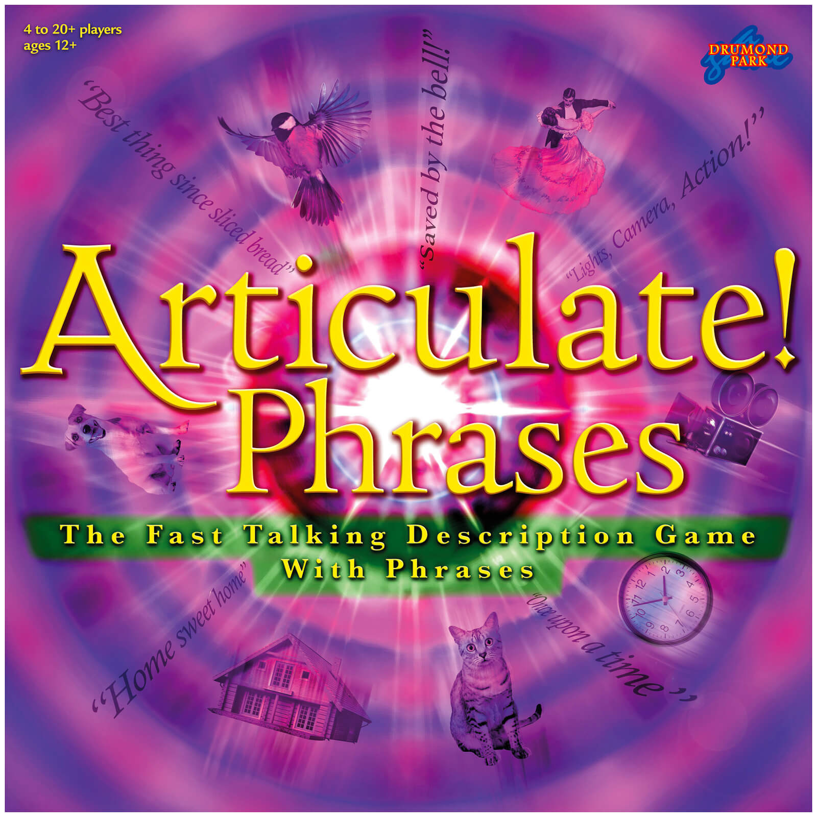 Articulate Phrases Board Game