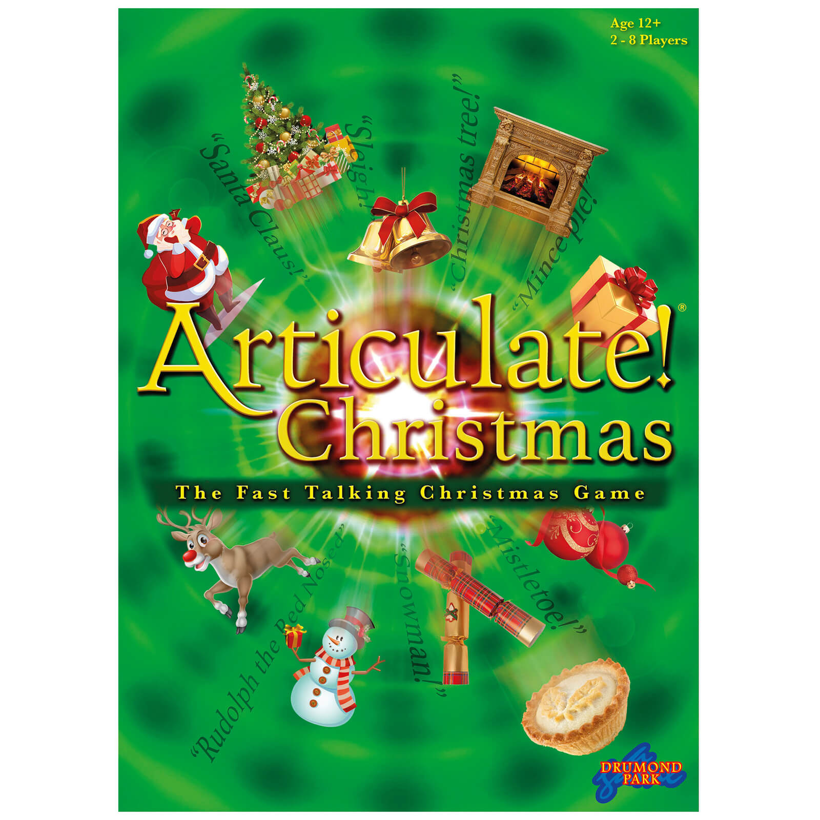 Articulate Christmas Board Game