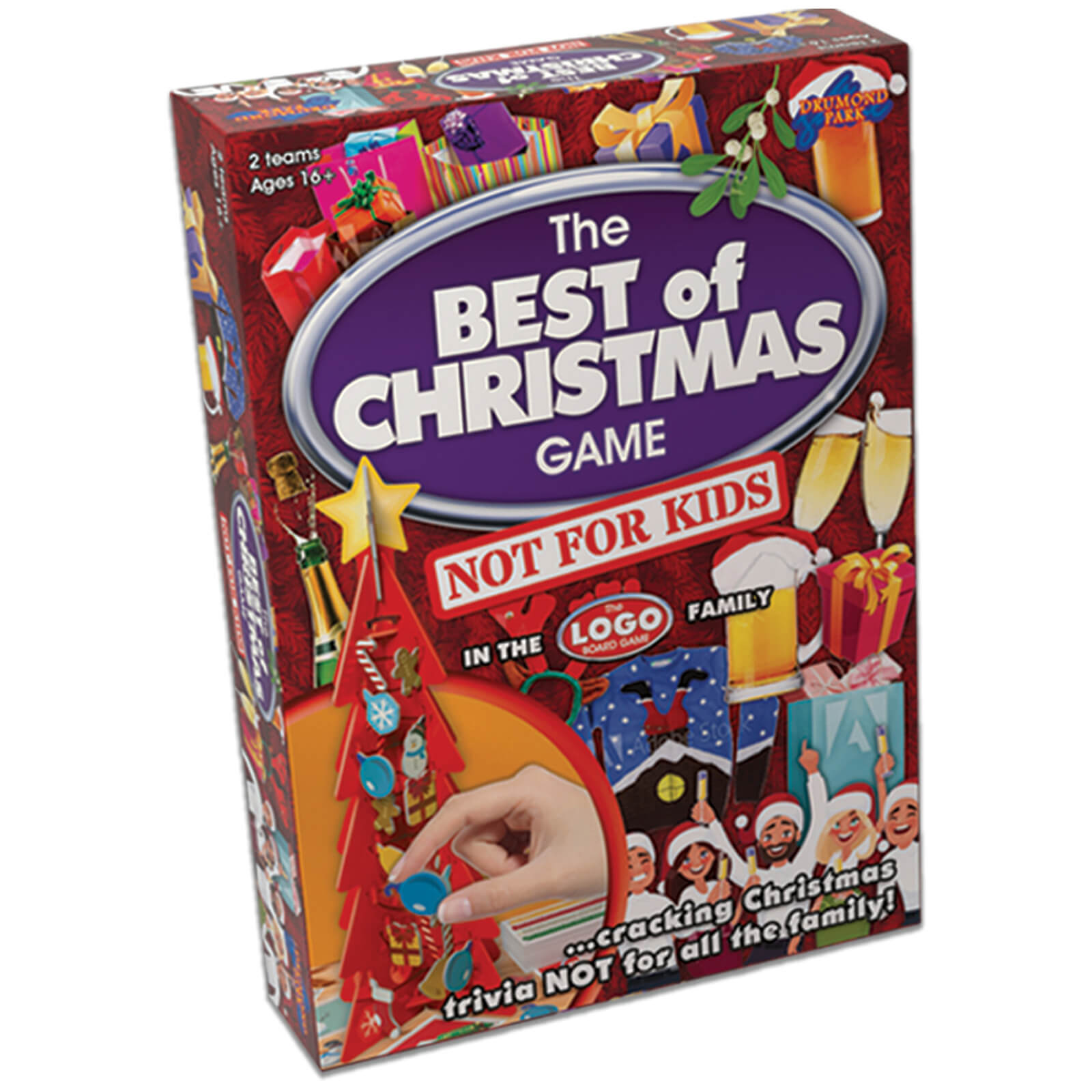 Image of Logo Best of Christmas Board Game - NOT FOR KIDS