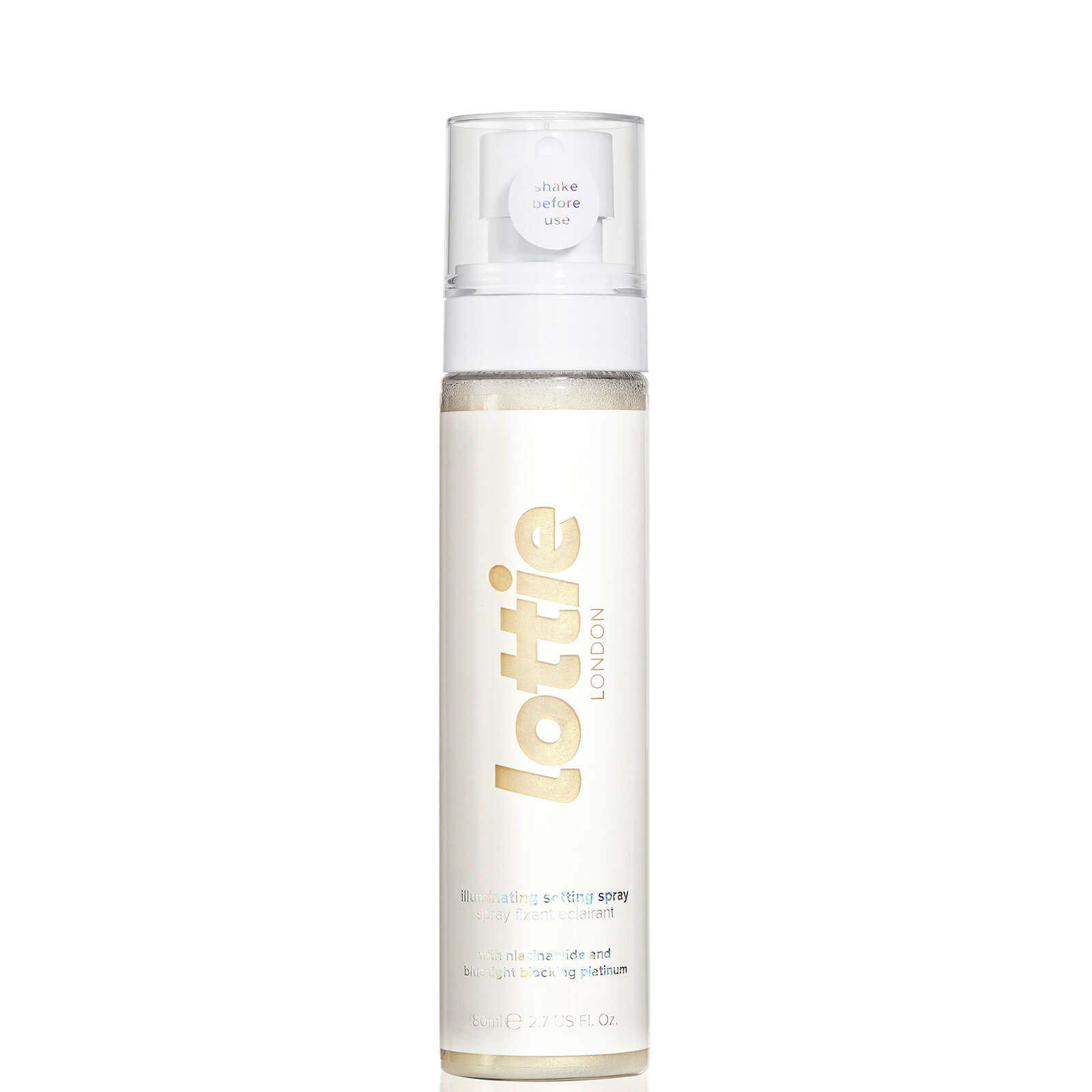 Lottie London Dew and Glow Setting Spray 80ml (Various Shades) - Pearl