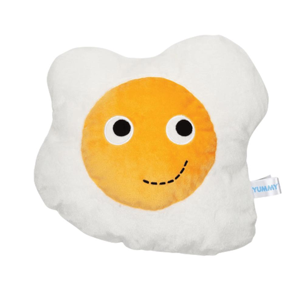 Image of Kidrobot Yummy Breakfast Plush Egg Plush 16 Inch White