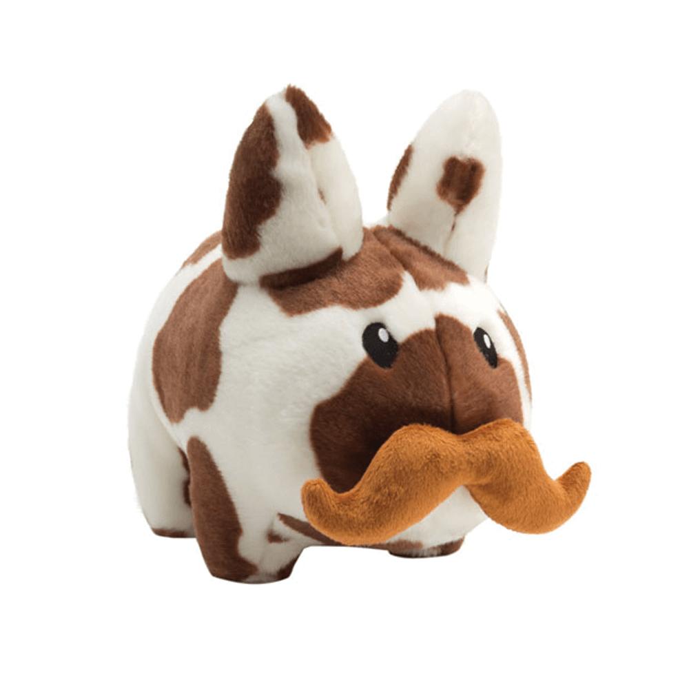 Image of Kidrobot Cow Labbit Plush 14 Inch brown