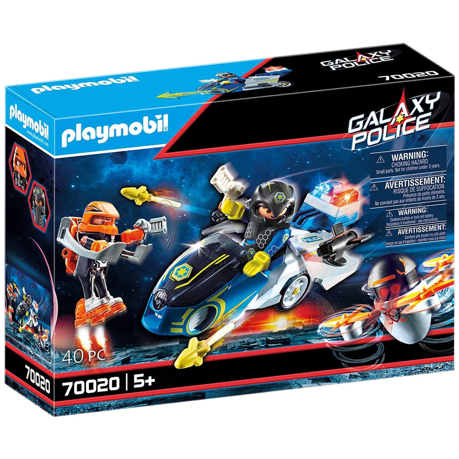 Playmobil Galaxy Police Bike (70020)