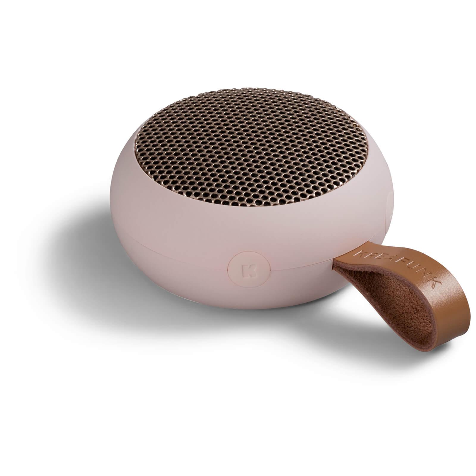 Kreafunk aGO Bluetooth Speaker - Dusty Pink