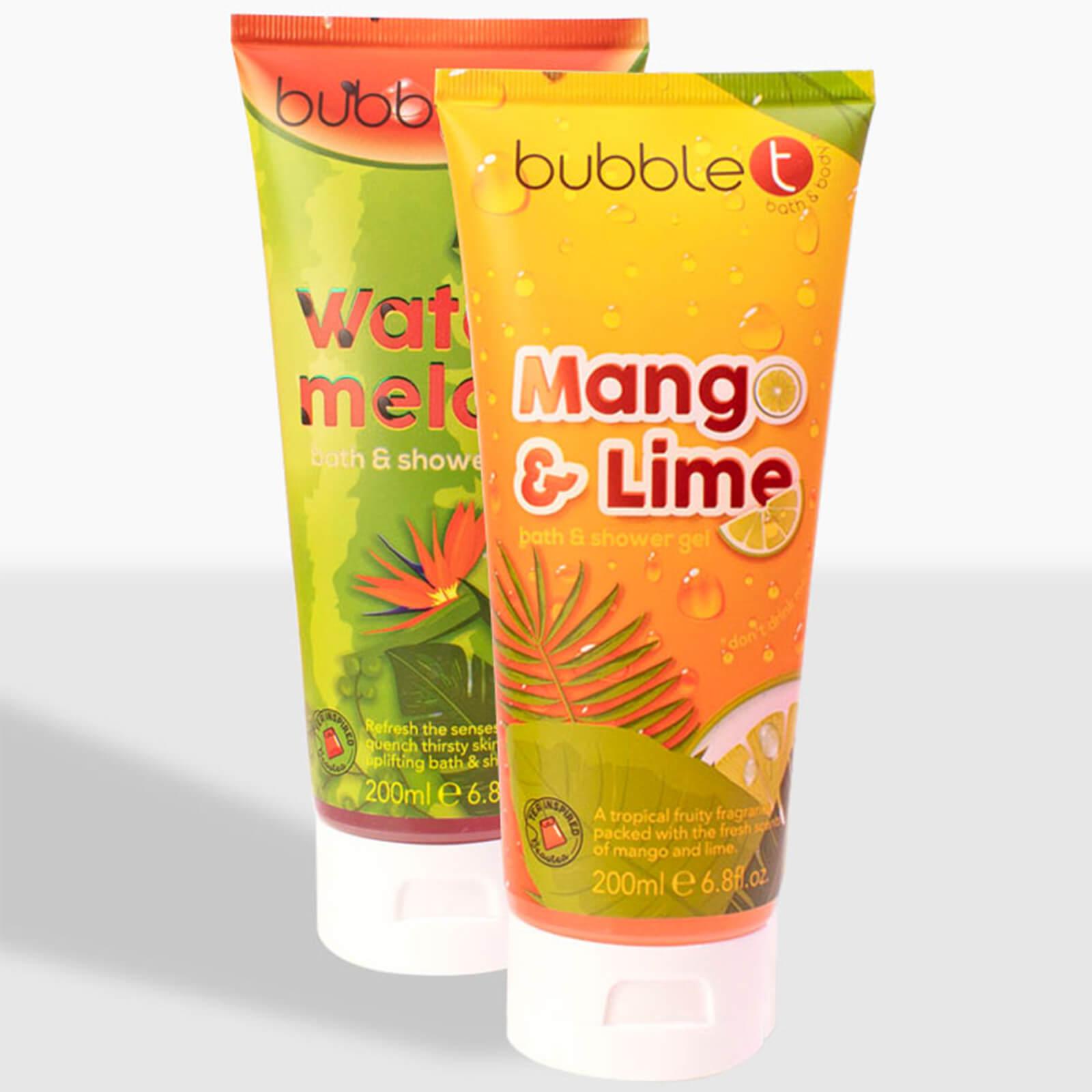 Bubble T Cosmetics Soapscription Watermelon and Mango & Lime