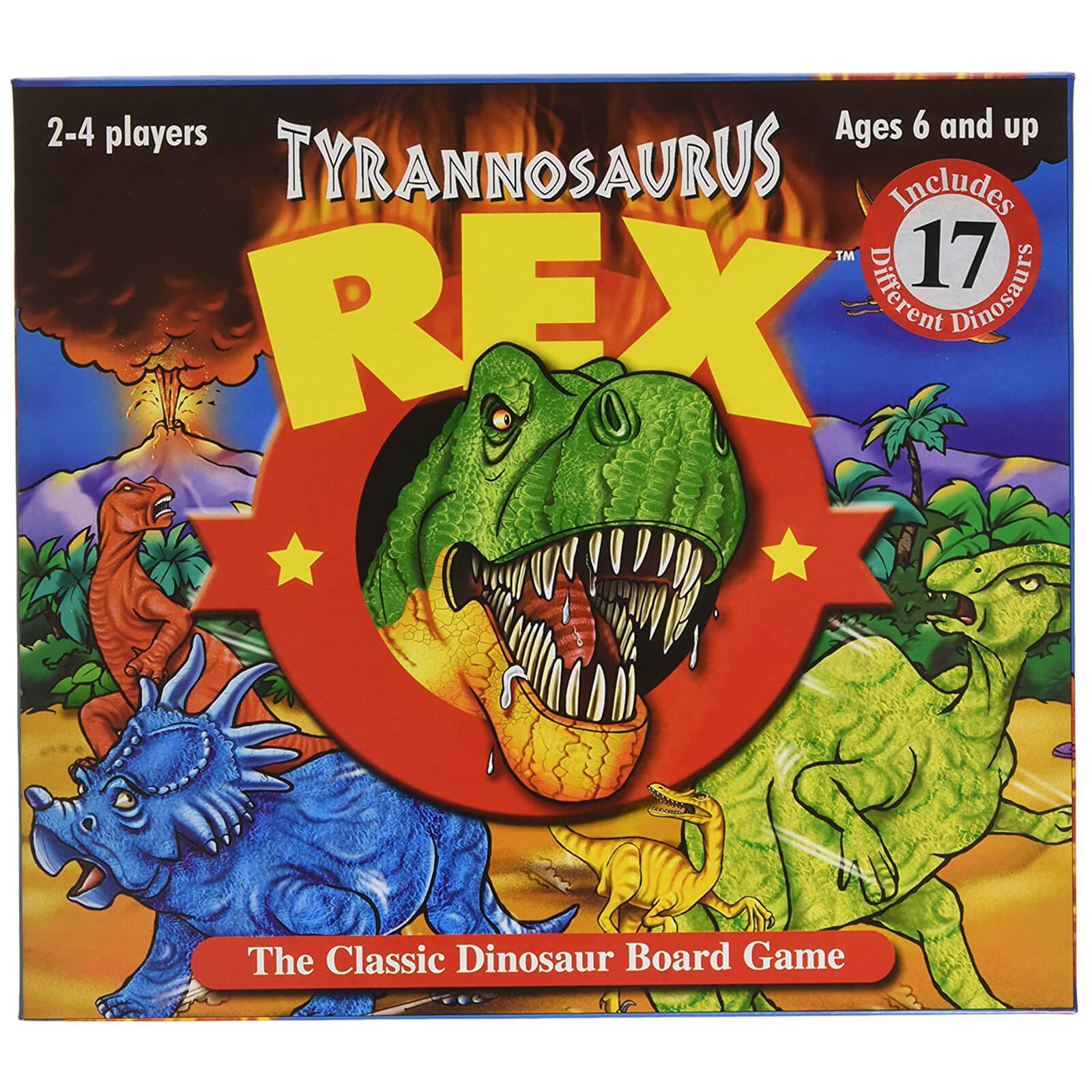 Image of T-Rex Board Game