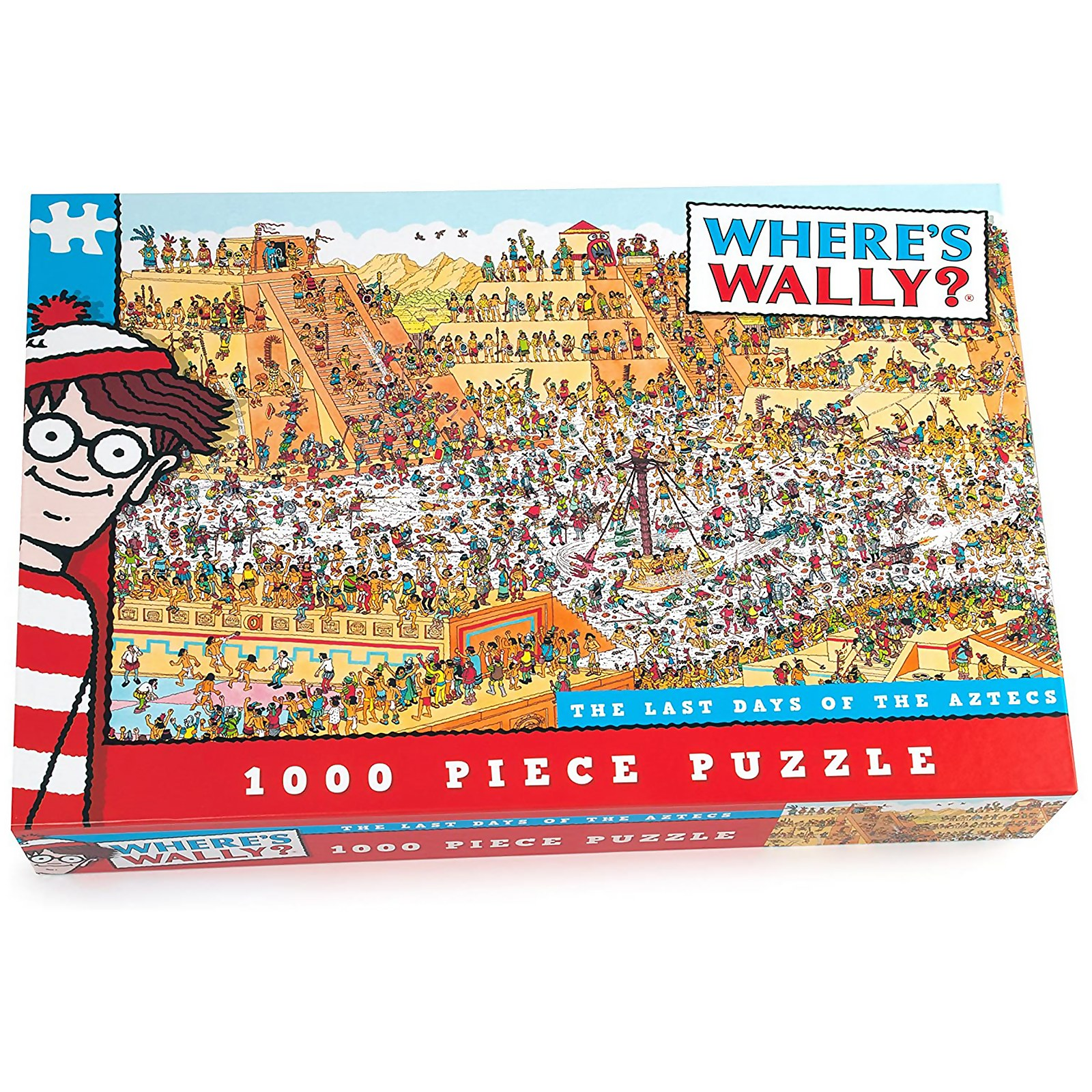 Image of Where's Wally The Last Days of the Aztecs Jigsaw Puzzle (1000 Pieces)