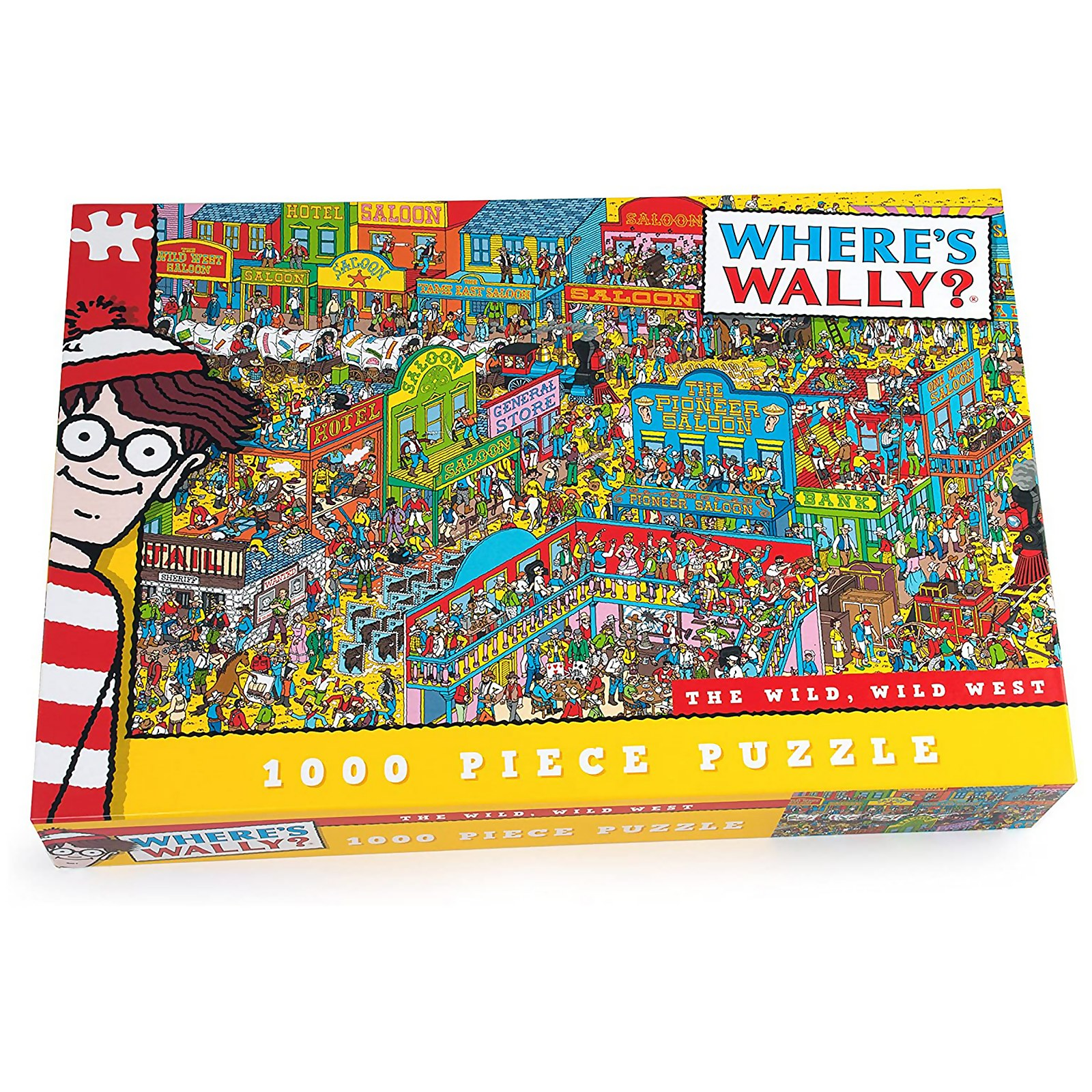 Wheres Wally The Wild Wild West Jigsaw Puzzle (1000 Pieces)