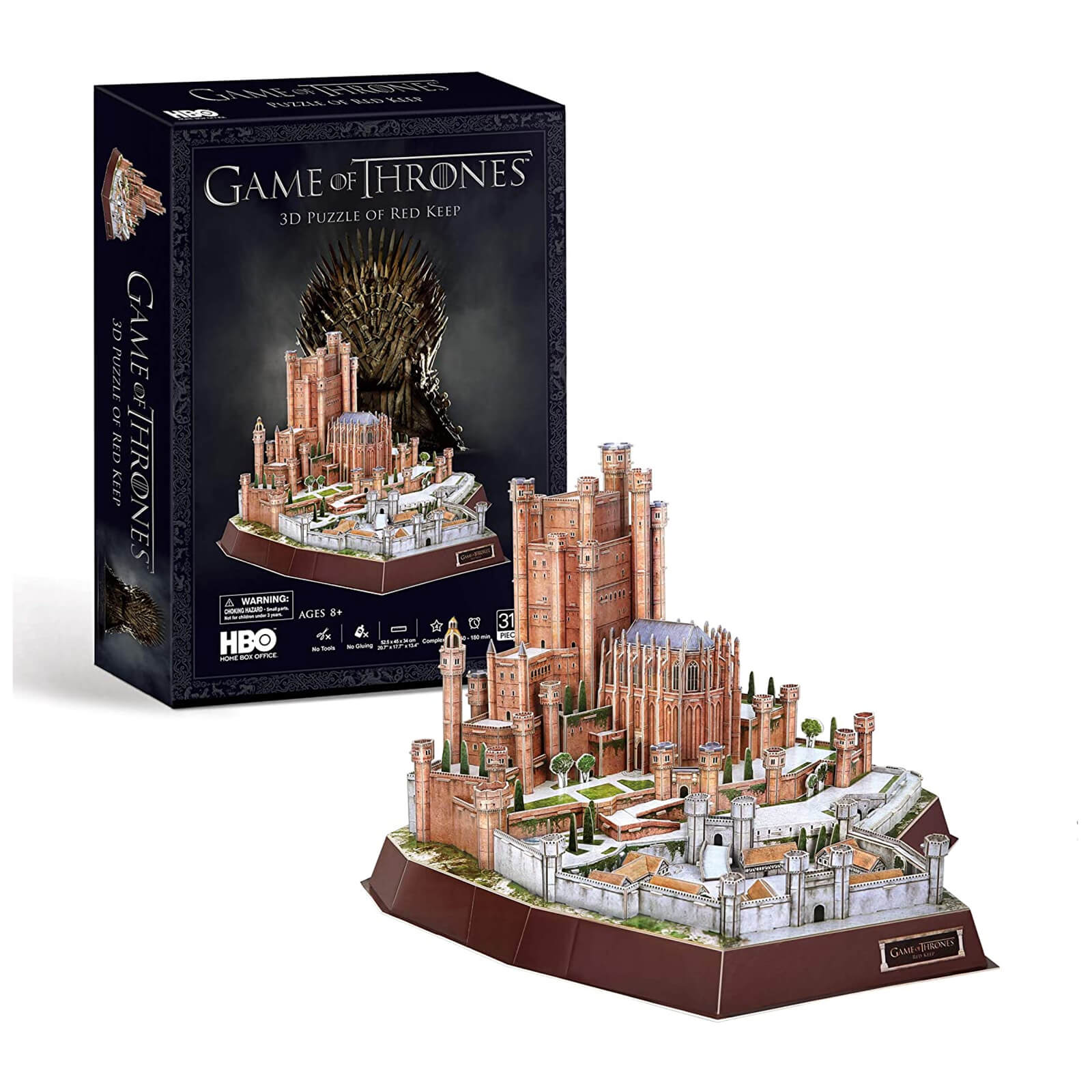 Image of Game of Thrones The Red Keep 3D Jigsaw Puzzle