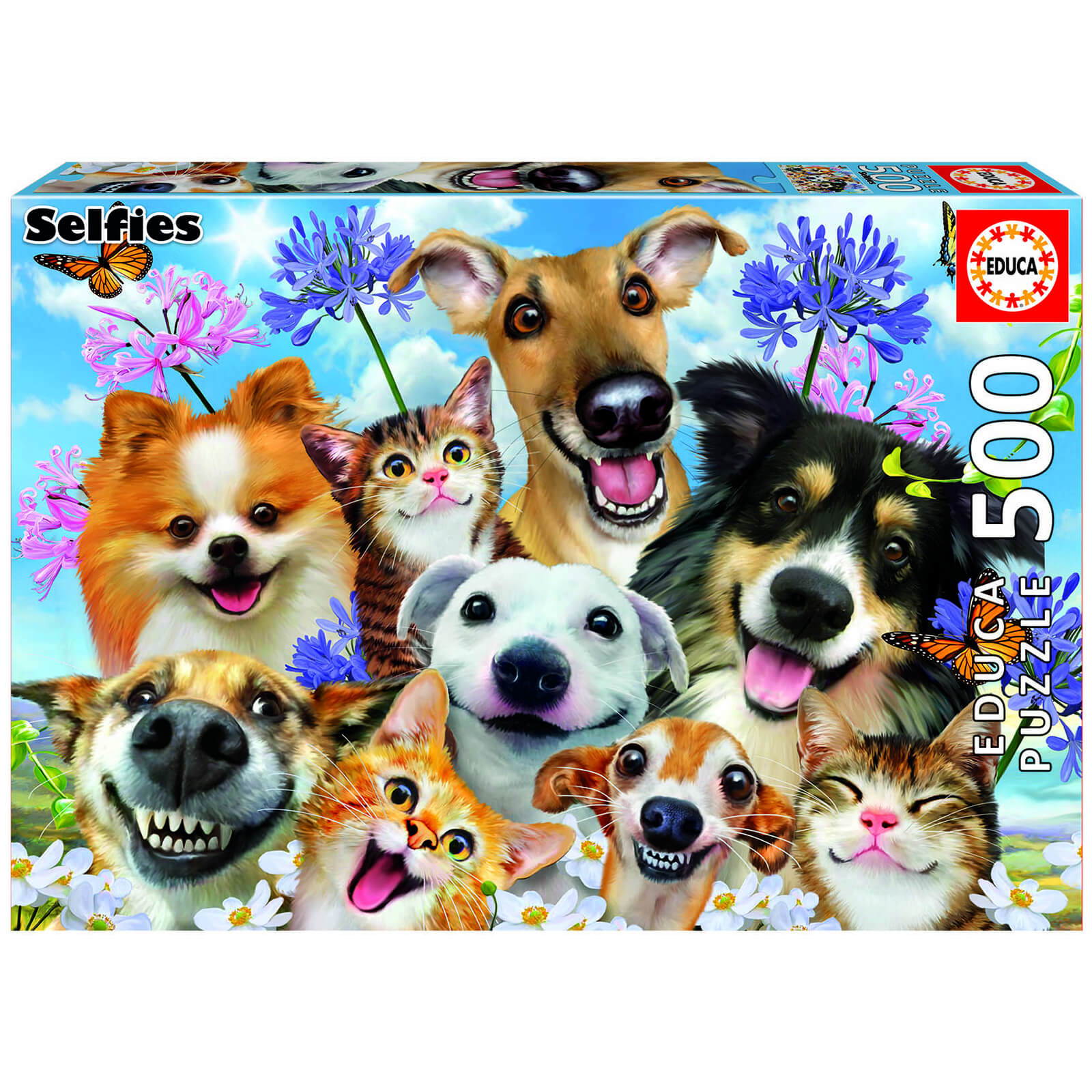Image of Fun in the Sun Selfie Jigsaw Puzzle (500 Pieces)