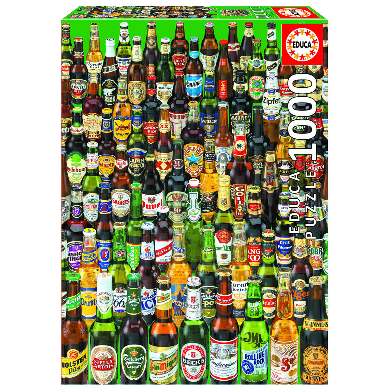 Image of Beers Jigsaw Puzzle (1000 Pieces)