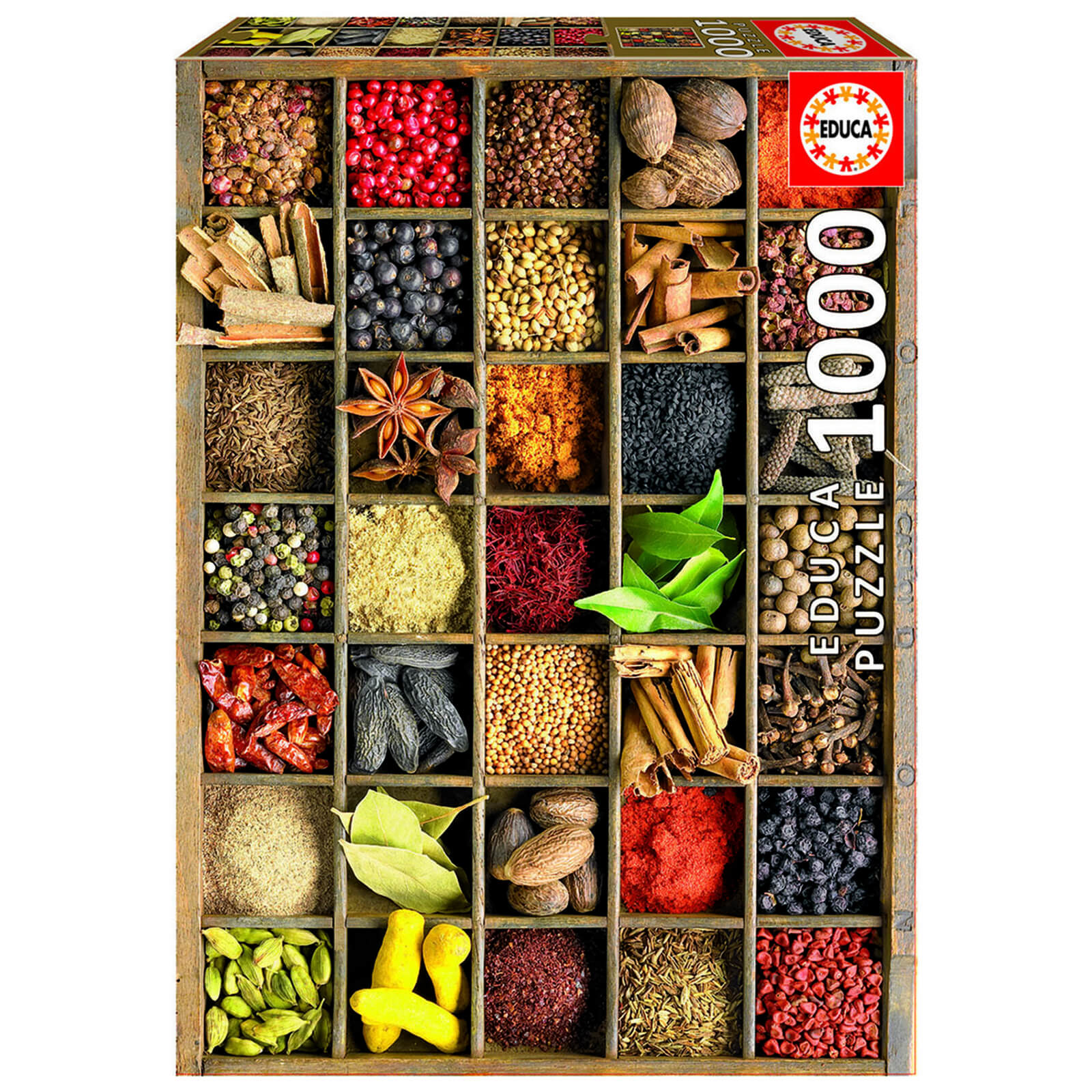 Image of Spices Jigsaw Puzzle (1000 Pieces)