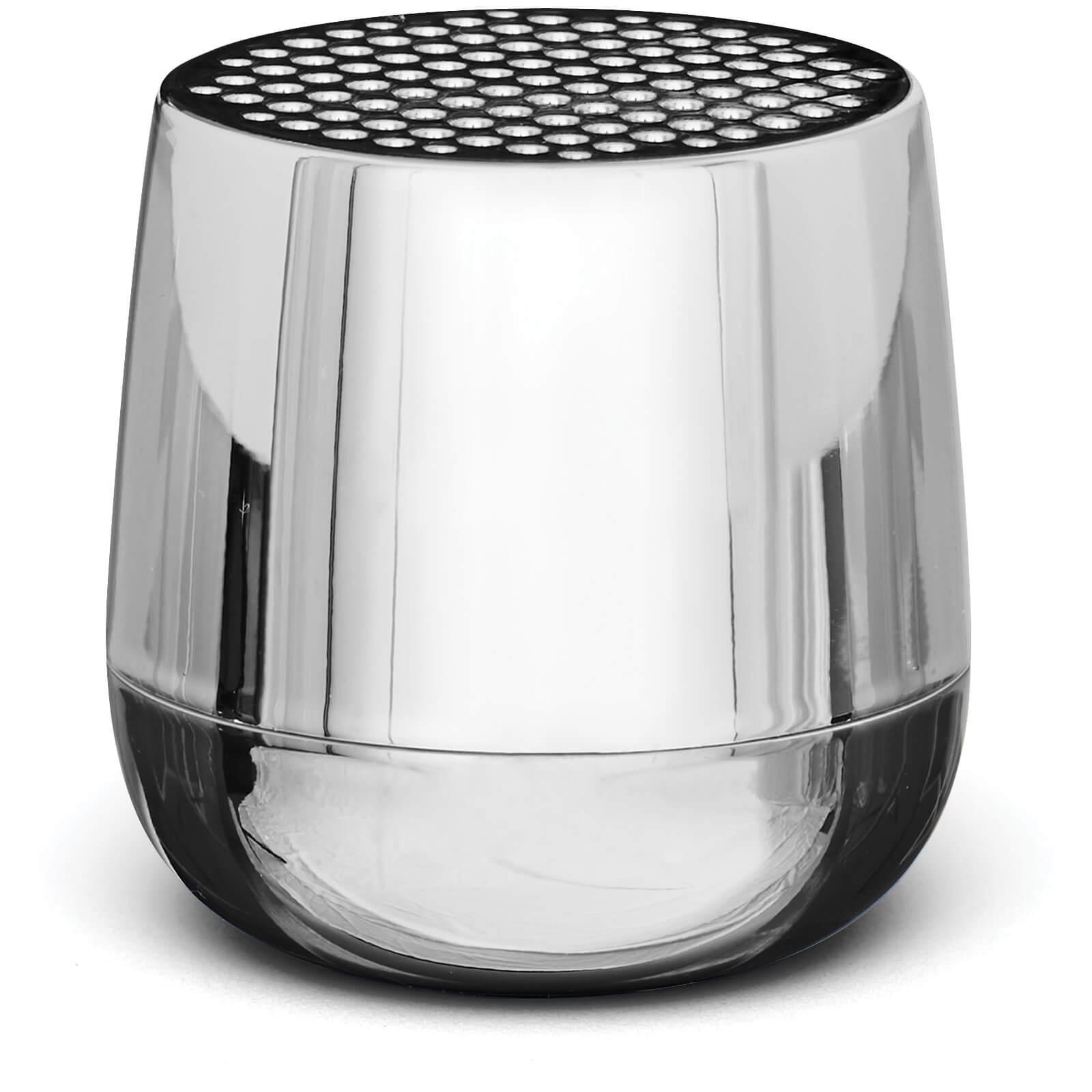 Lexon MINO + Bluetooth Speaker - Chrome