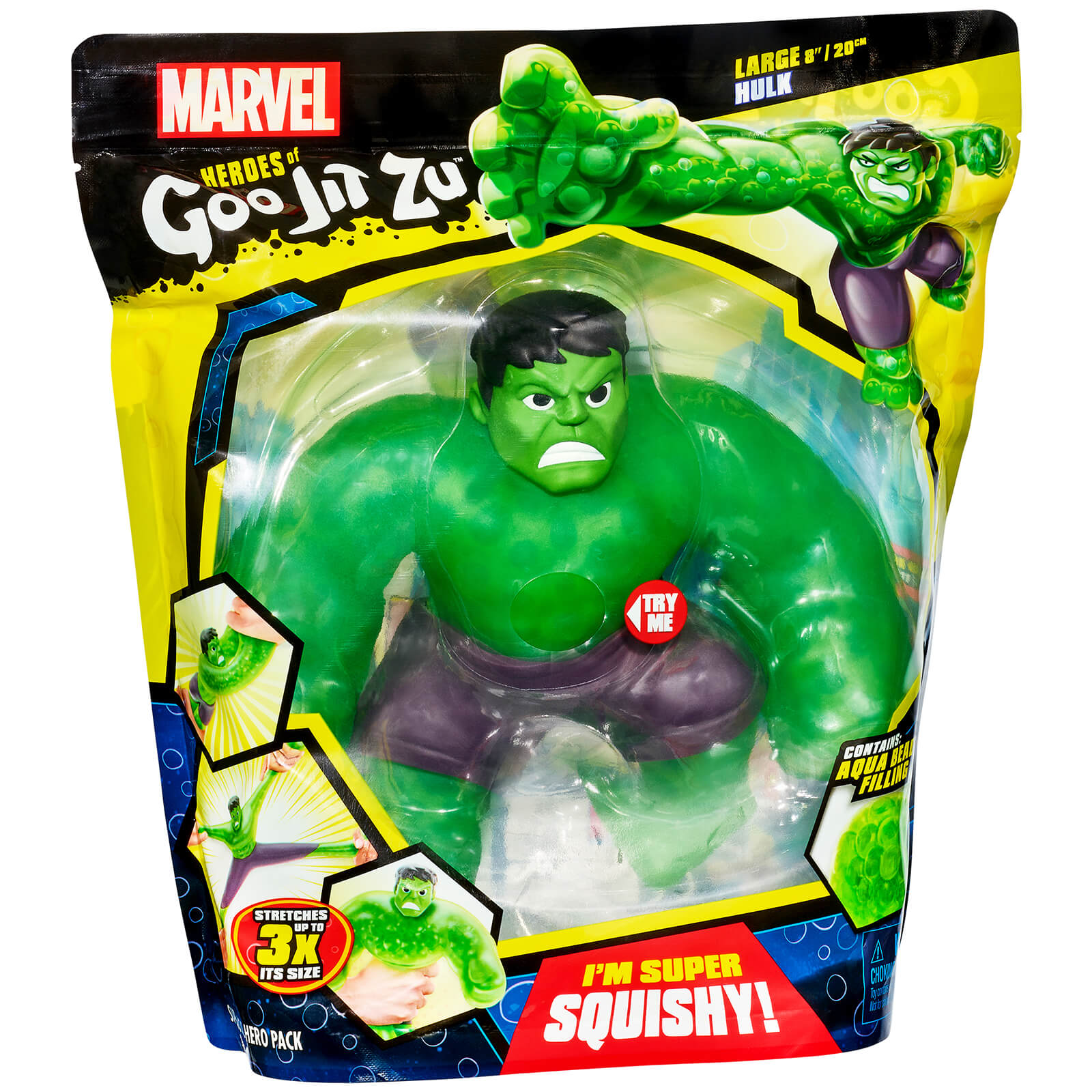 Image of Heroes of Goo Jit Zu Marvel - Supagoo Hulk