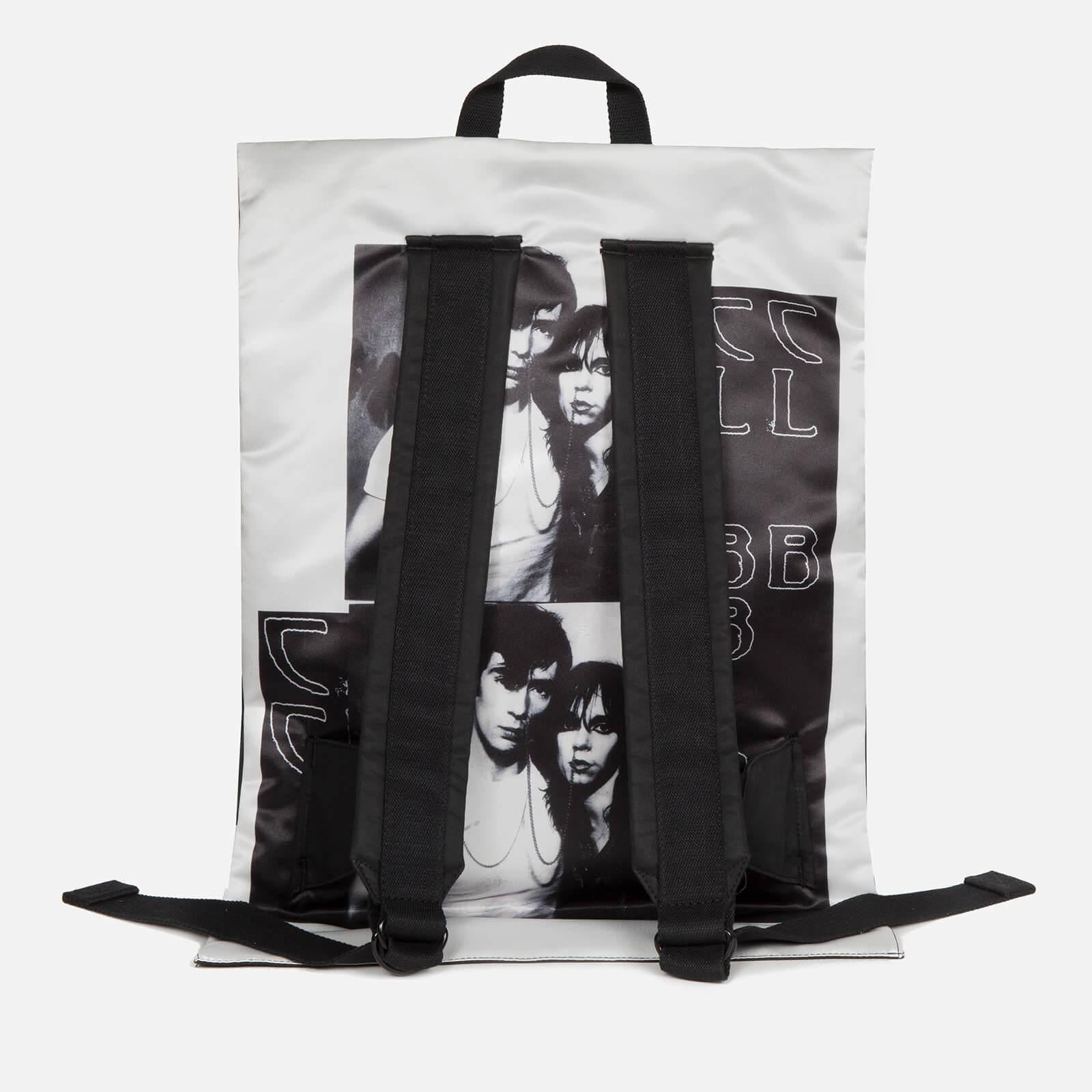 Eastpak Men's X Raf Simons Poster Padded Pak'r Backpack - Black