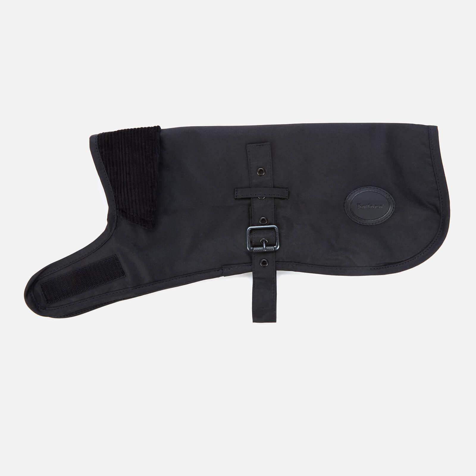 Barbour Casual Matt Wax Dog Coat - Black - S