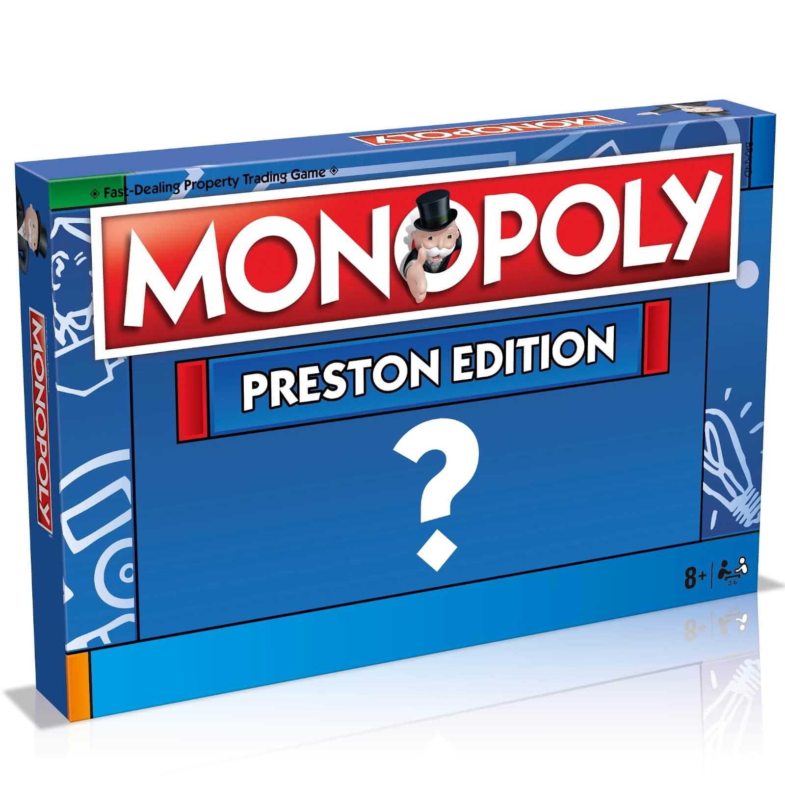 Monopoly Board Game   Preston Edition