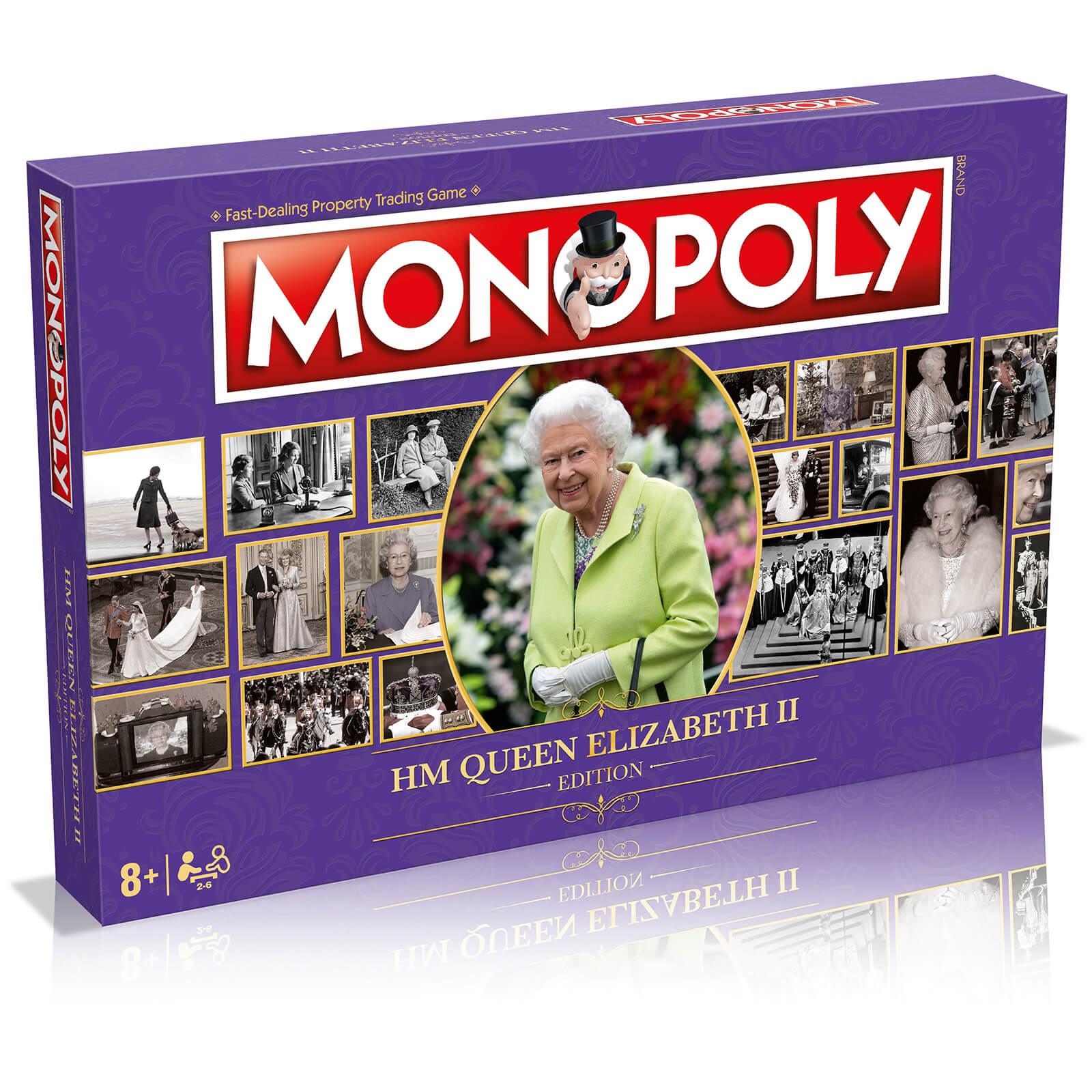 Image of HM Queen Elizabeth II Monopoly Board Game