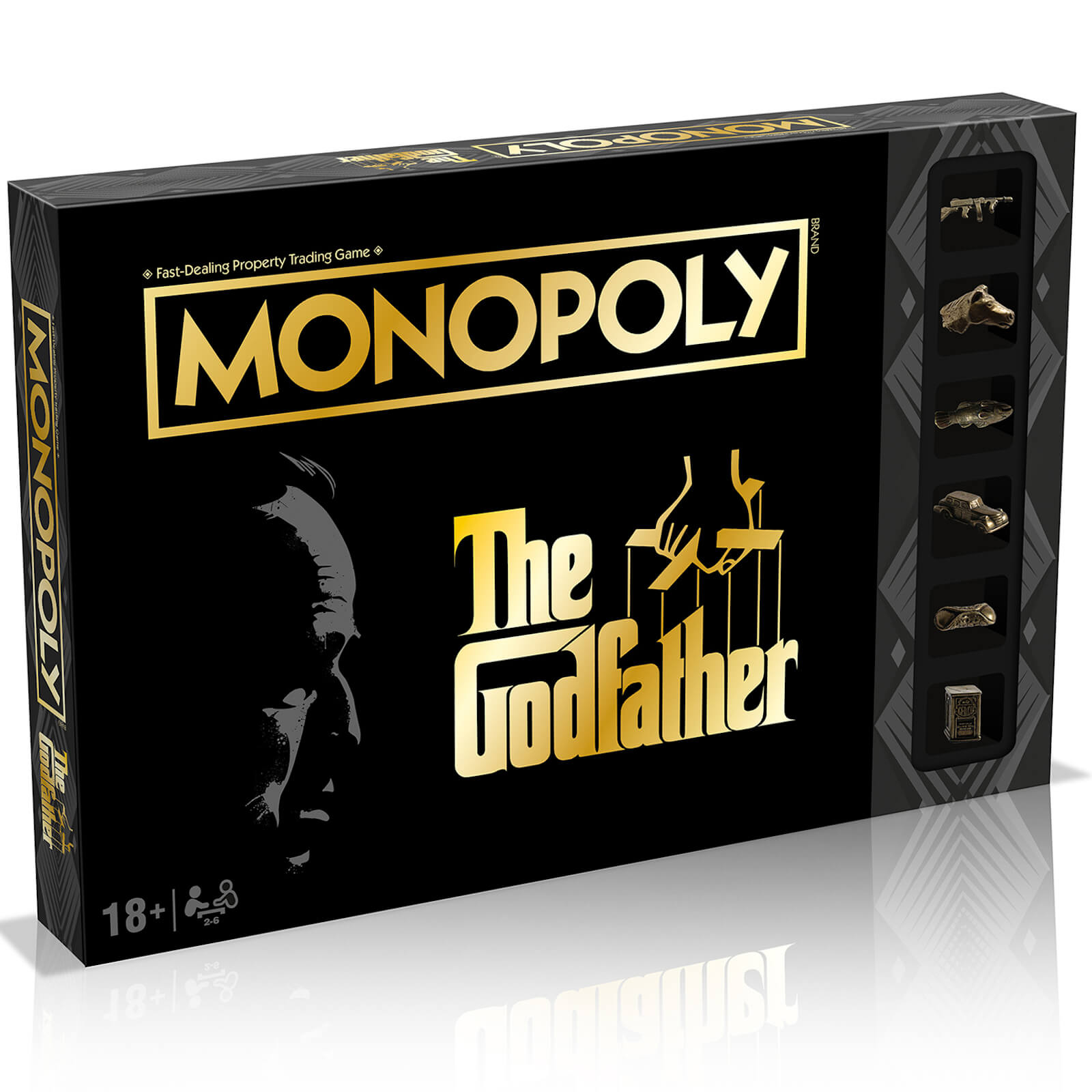 Image of Monopoly Board Game - The Godfather Edition