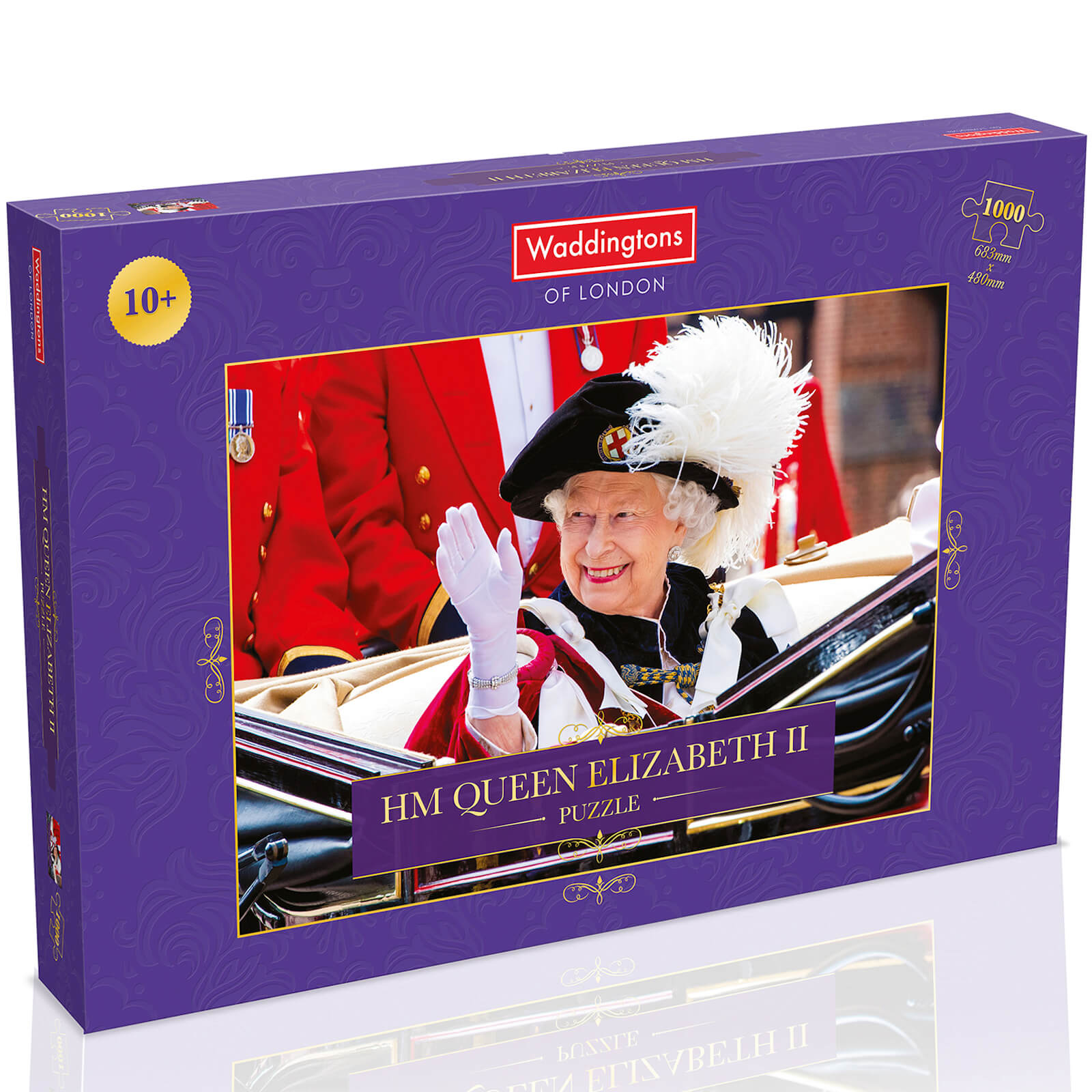 Image of 1000 Piece Jigsaw Puzzle - HM Queen Elizabeth II Edition