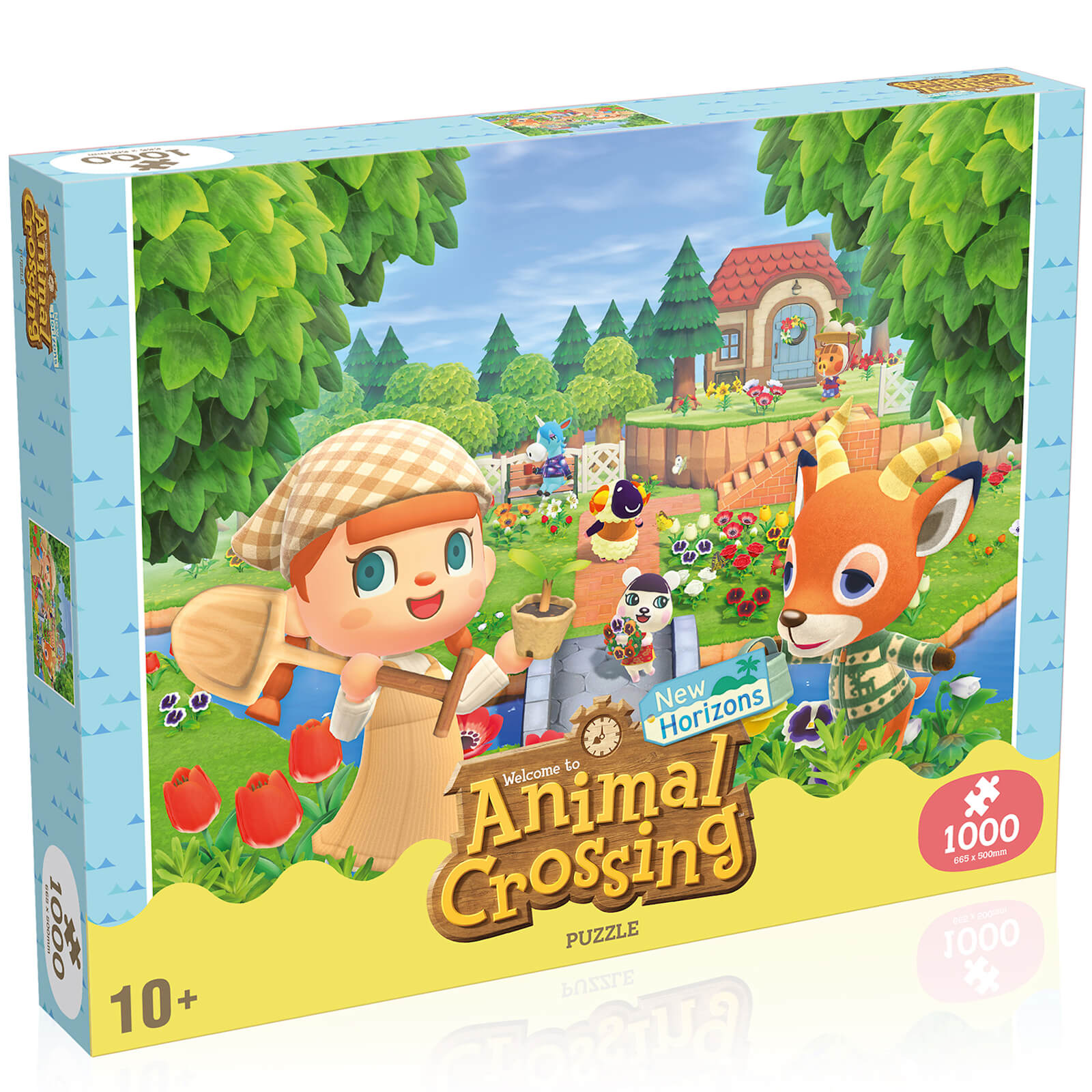 Image of 1000 Piece Jigsaw Puzzle - Animal Crossing Edition