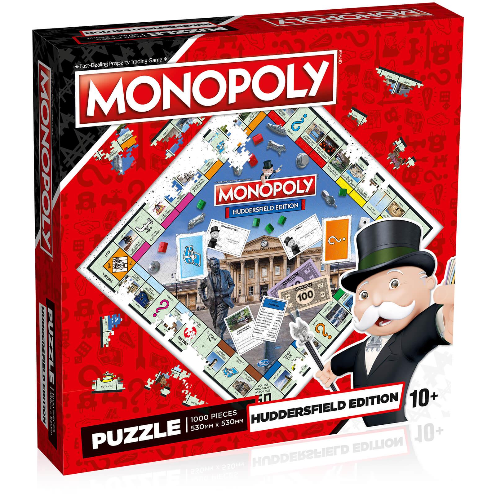 Image of Huddersfield Monopoly Jigsaw