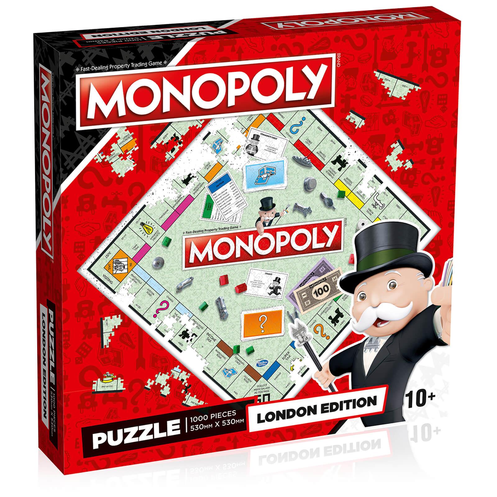 Image of London Monopoly Jigsaw