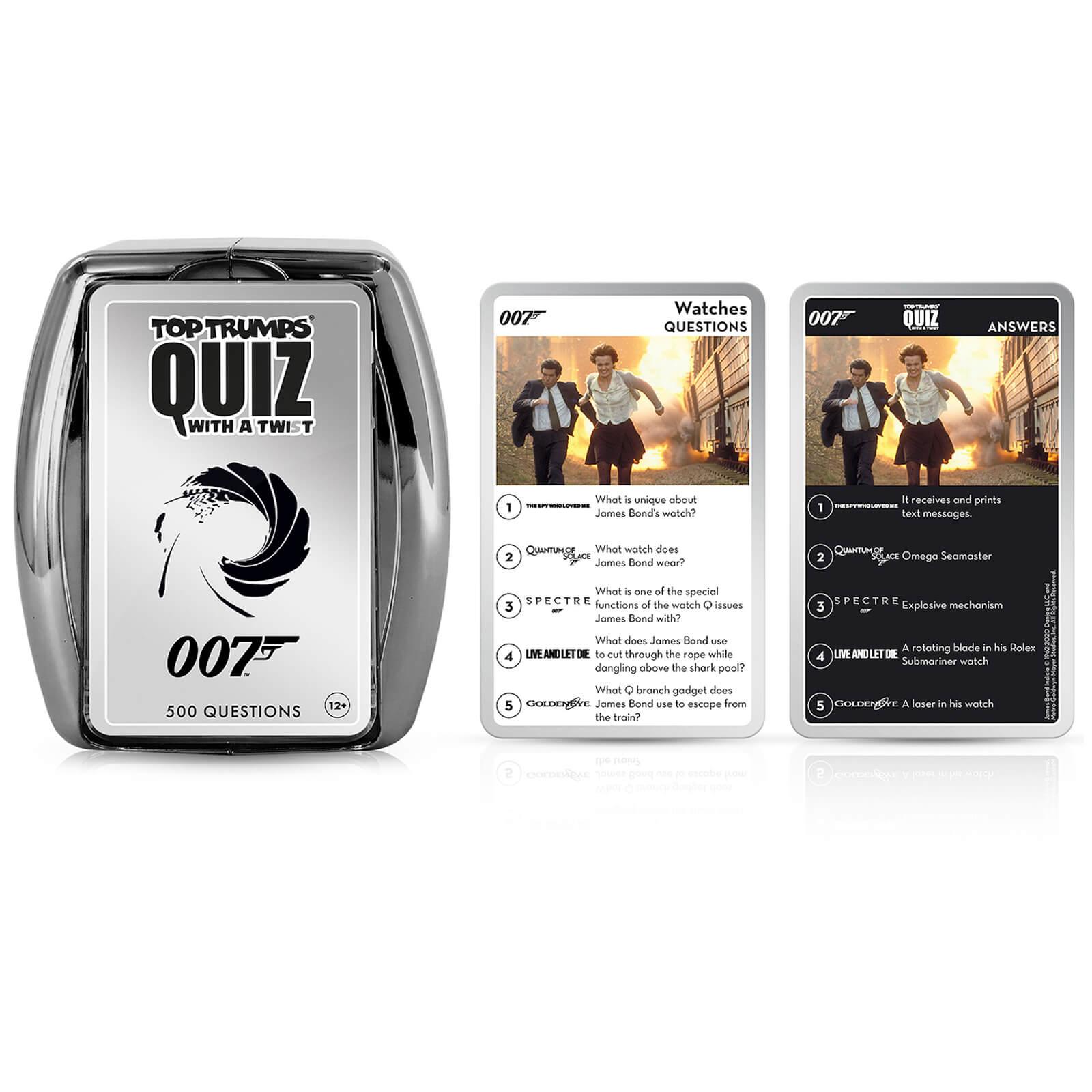 Image of James Bond 007 Top Trumps Card Game