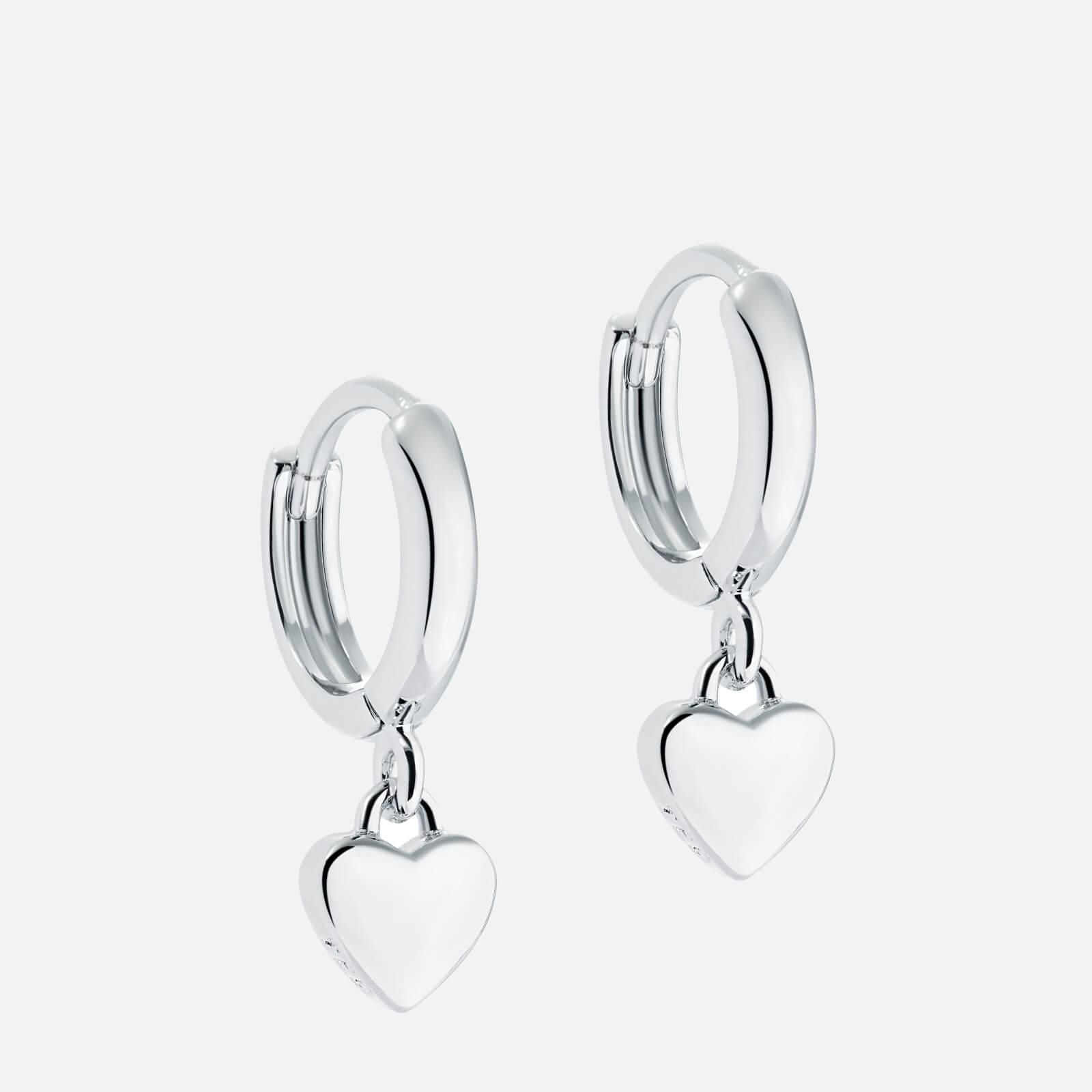 Ted Baker Women's Harrie: Tiny Heart Huggie Earrings - Silver