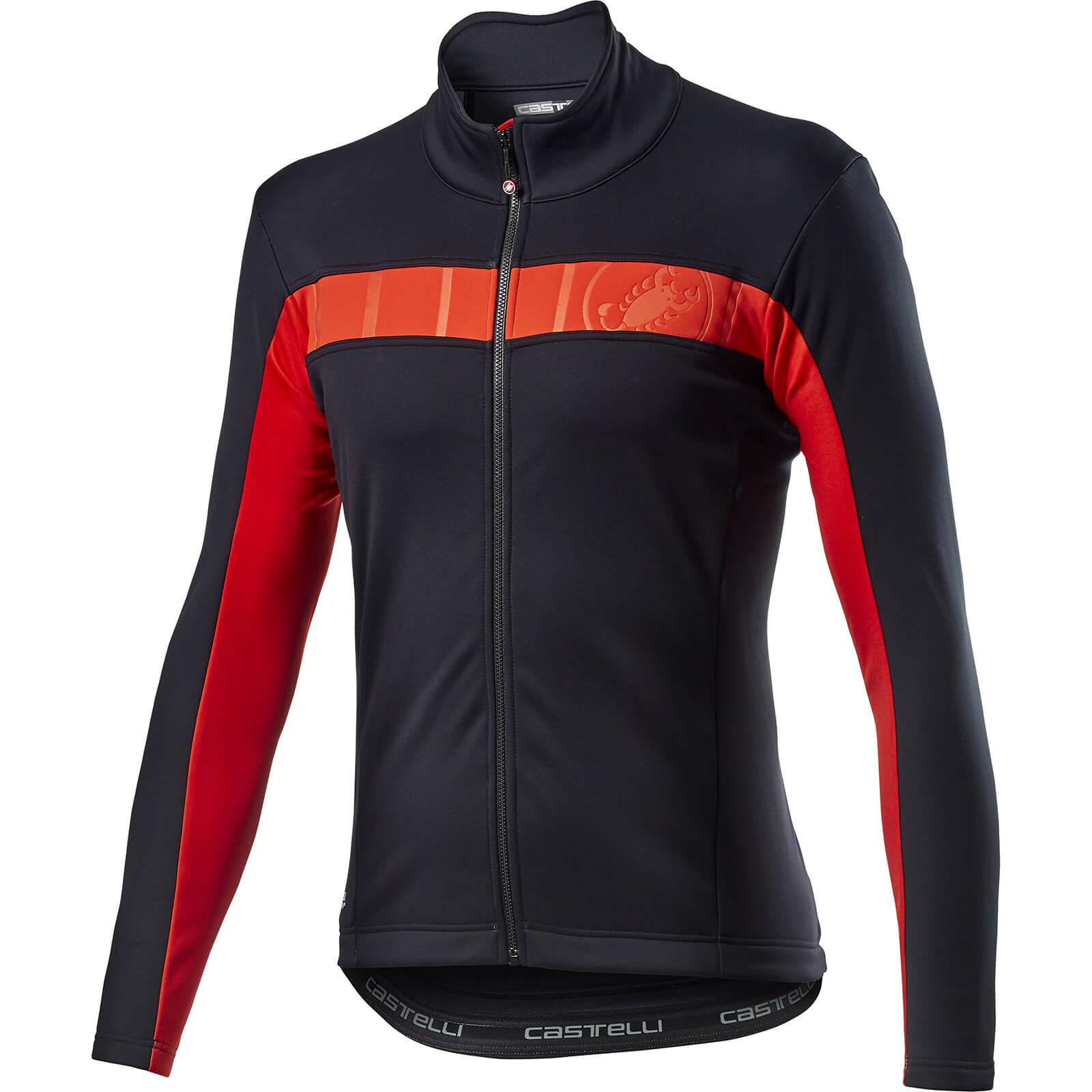 Castelli Mortirolo VI Jacket - L - Light Black