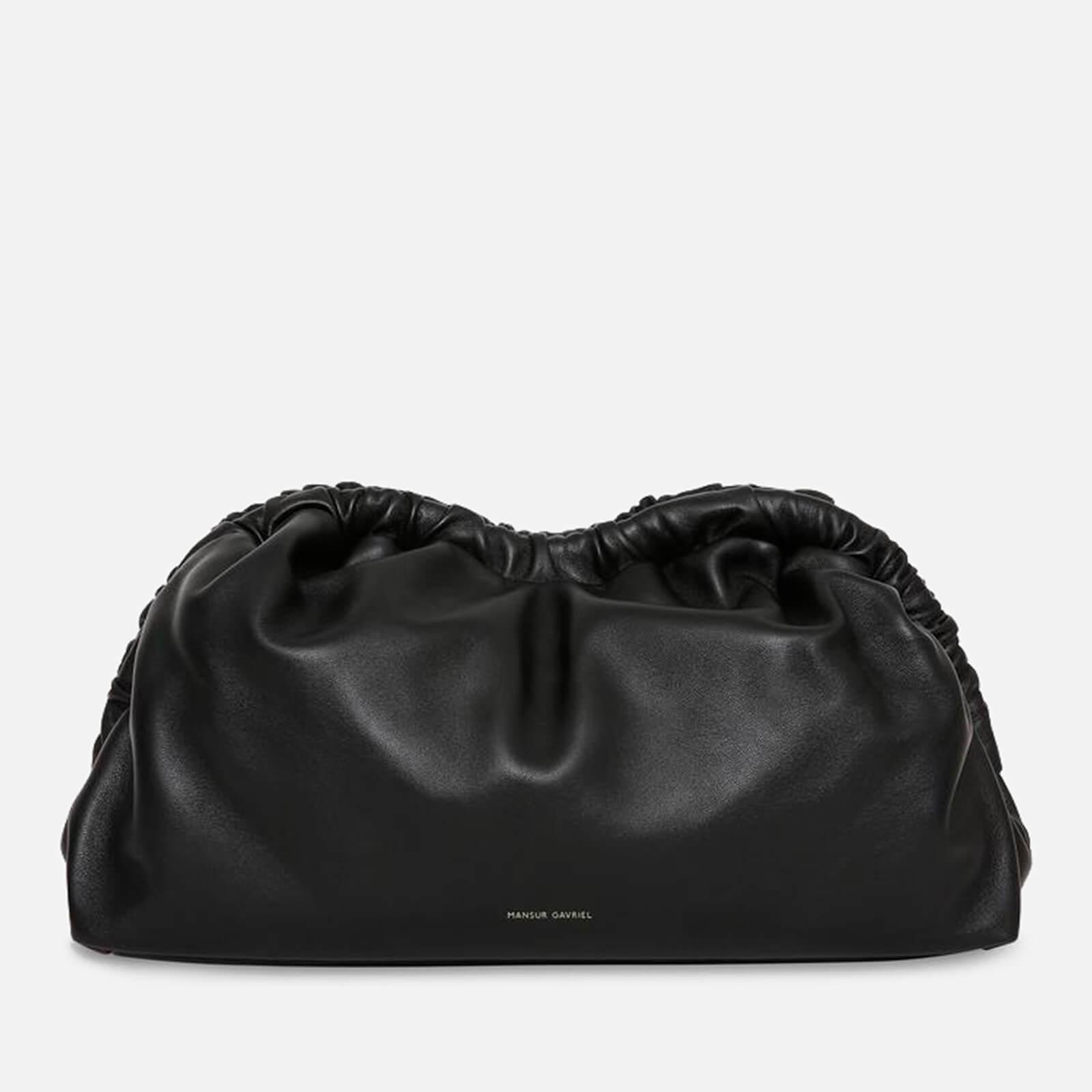 Mansur Gavriel Women's Cloud Clutch Bag - Black/Flamma