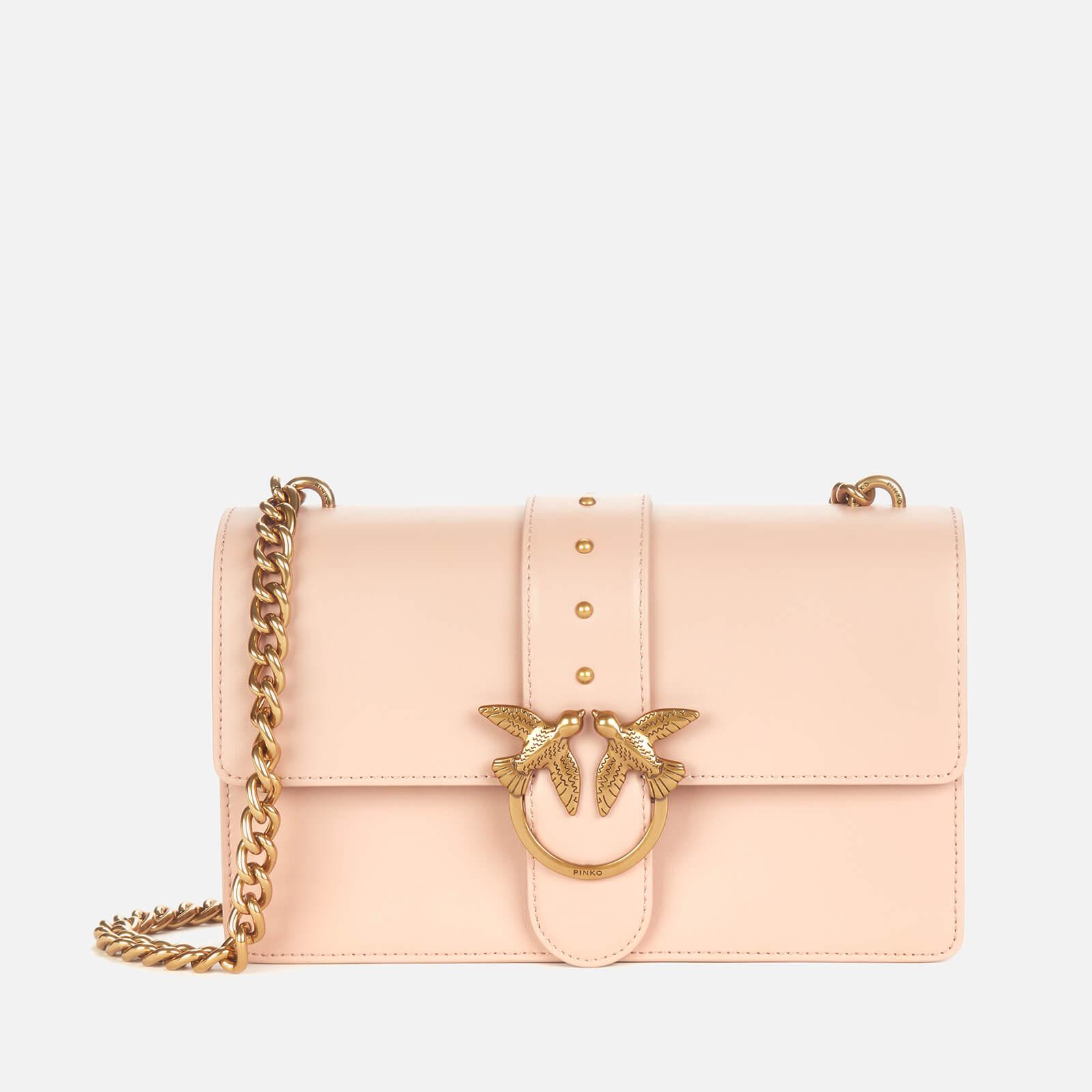 pinko women's love classic icon simply bag - powder pink