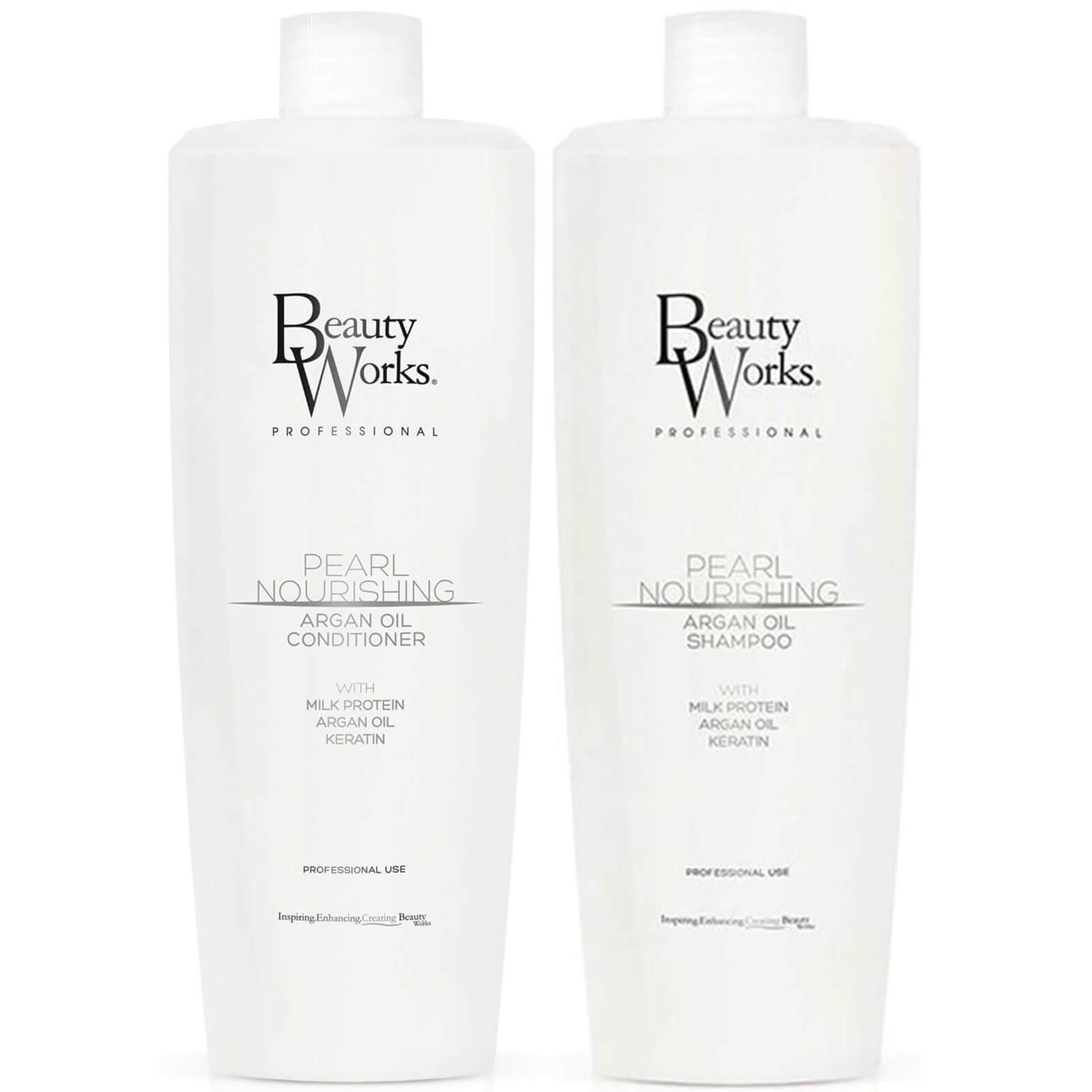 Beauty Works Pearl Nourishing Shampoo and Conditioner Duo 1 Litre