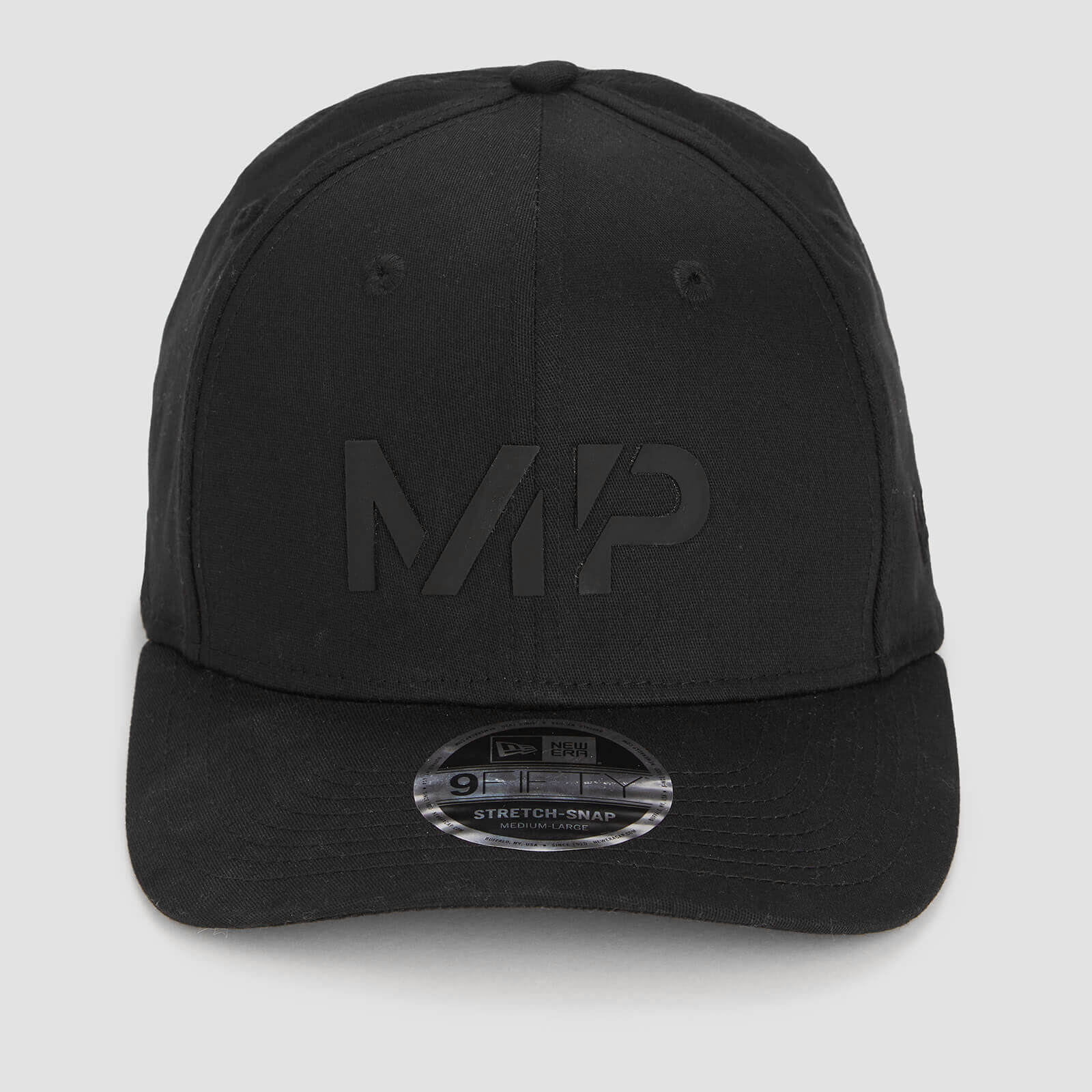 MP New Era 9FIFTY Stretch Snapback - Black/Black - S-M