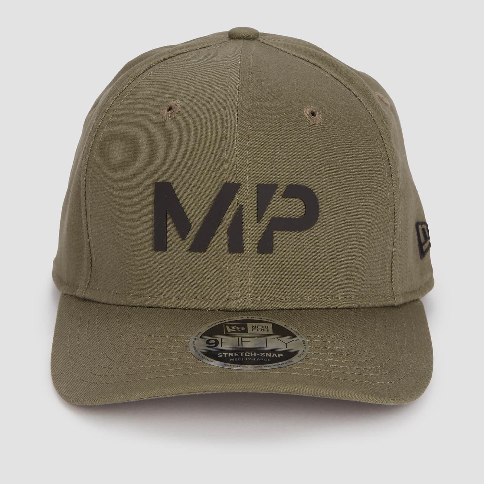 MP New Era 9FIFTY Stretch Snapback - Dark Olive/Black - S-M