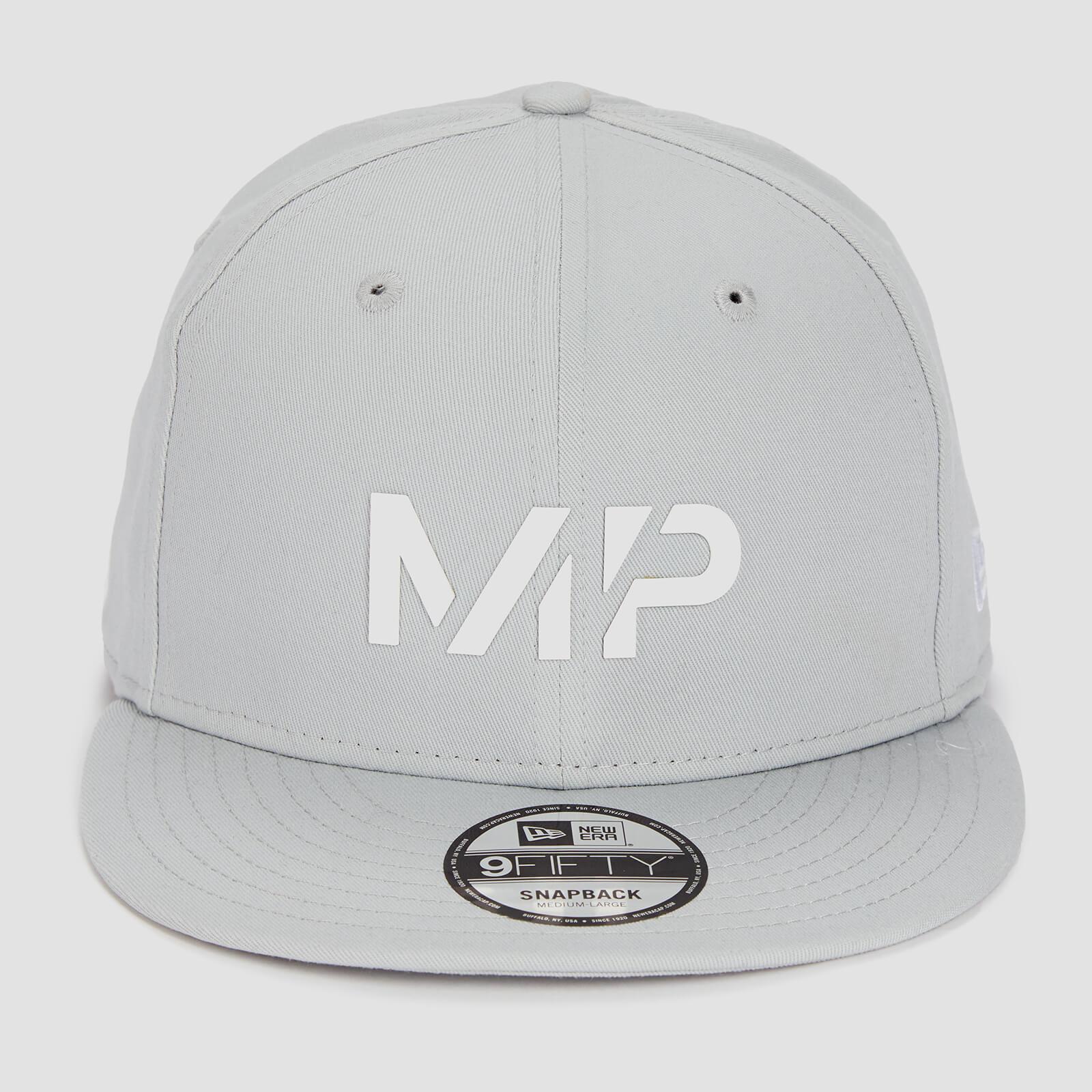 MP New Era 9FIFTY Snapback - Chrome/White - S-M